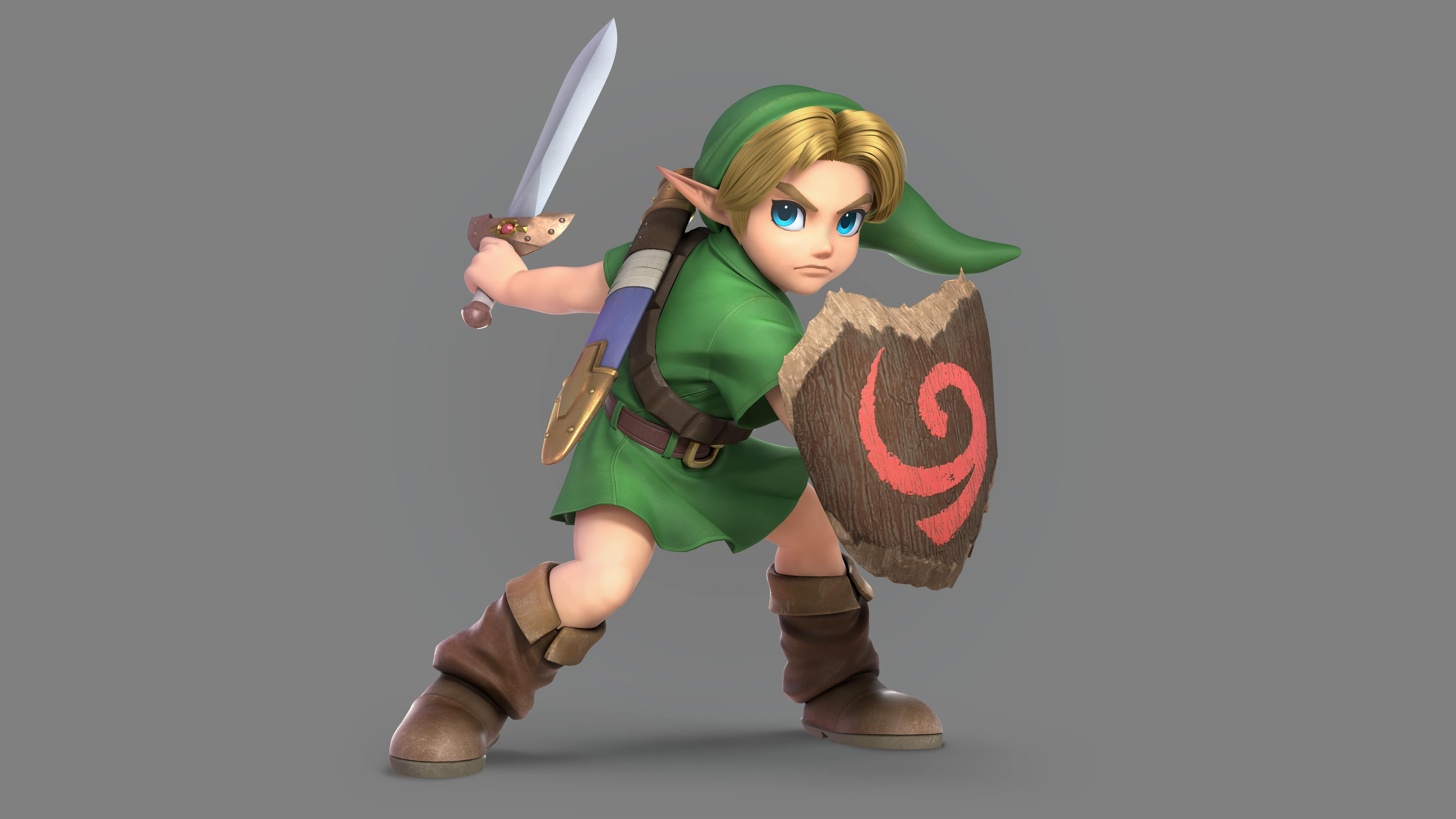 Young Link Super Smash Bros Ultimate 5k #4217 Wallpapers and Free ...