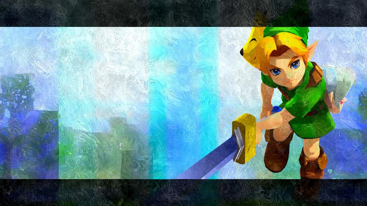 The Legend of Zelda images Young Link Silk Art HD wallpaper and ...