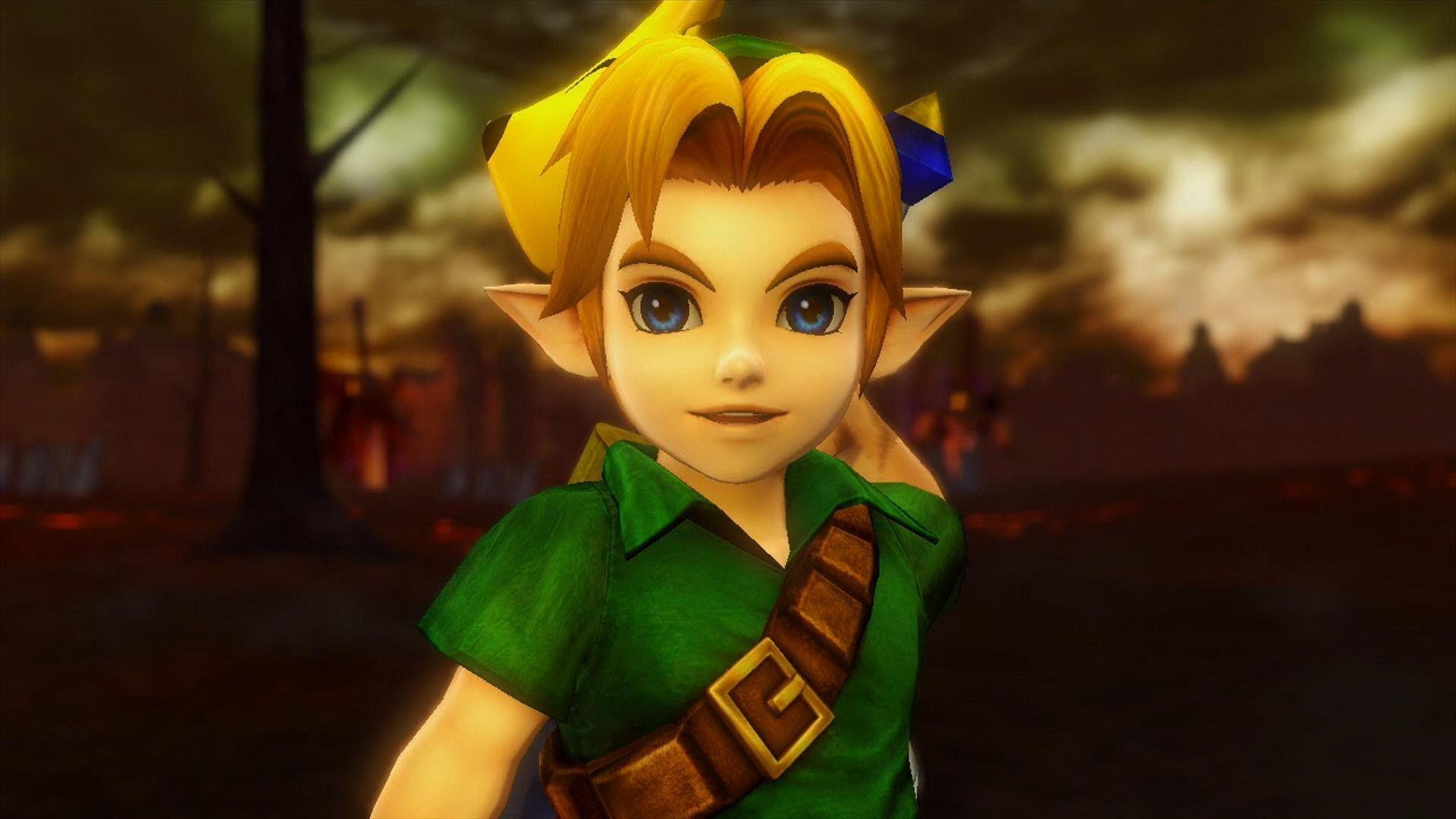 Hyrule Warriors - Young Link & Fierce Deity Gameplay... OH MY GOD ...