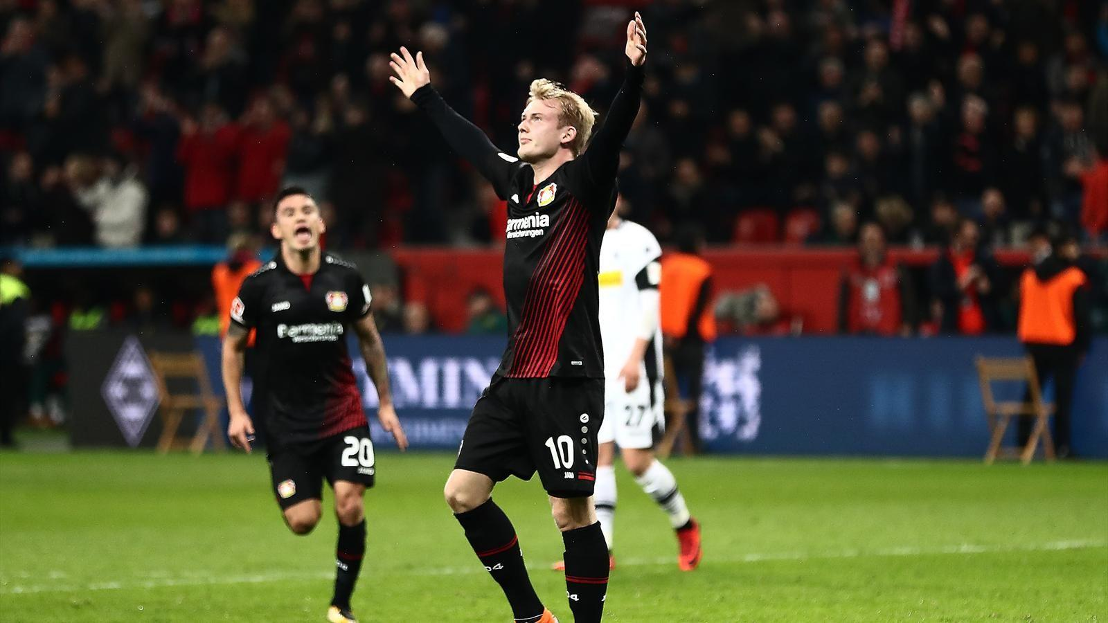 Germany winger Julian Brandt extends Bayer Leverkusen deal to 2021 ...