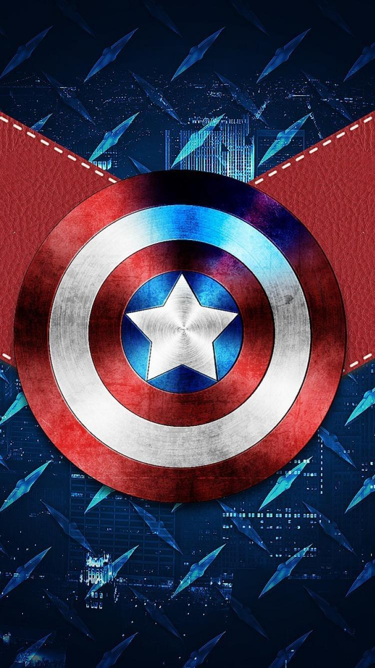 Captain America Phone Wallpapers - Wallpaper Cave