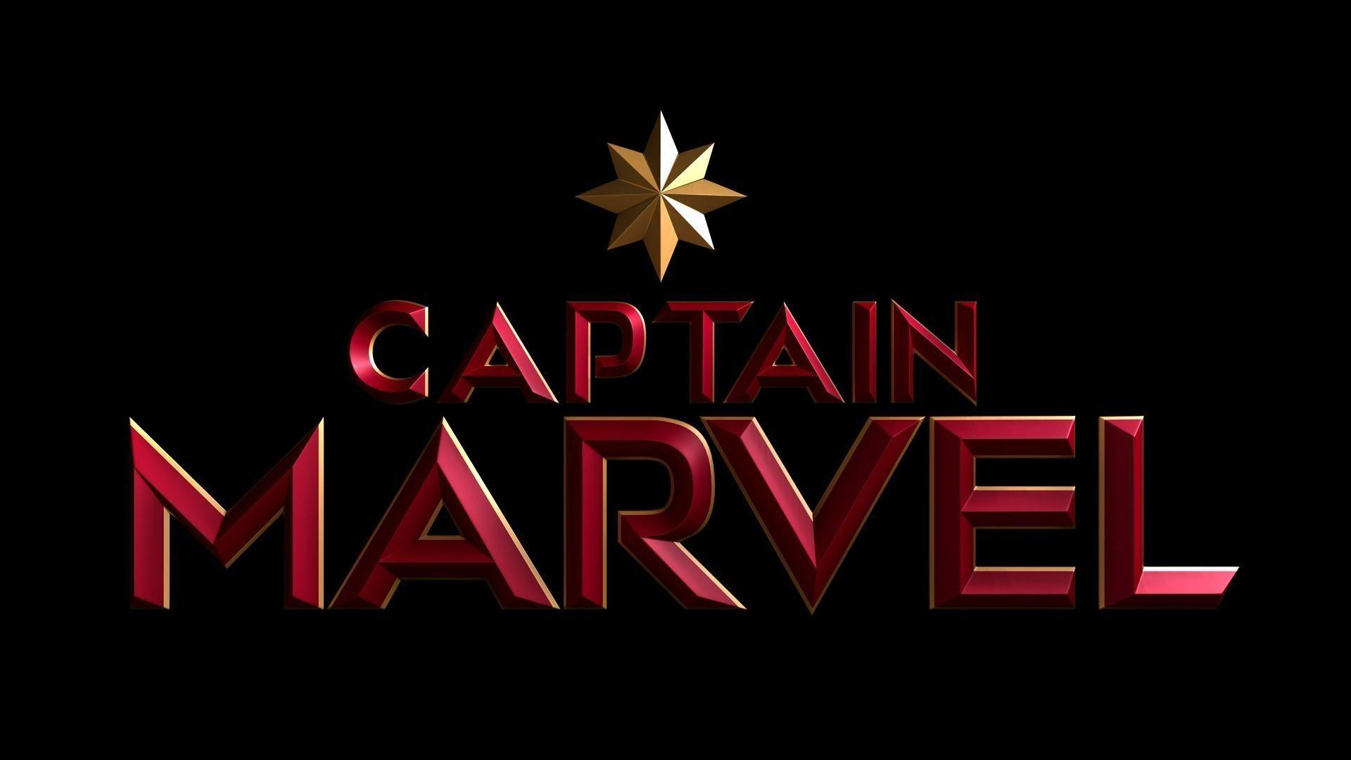 Captain Marvel Logo Wallpapers Wallpaper Cave