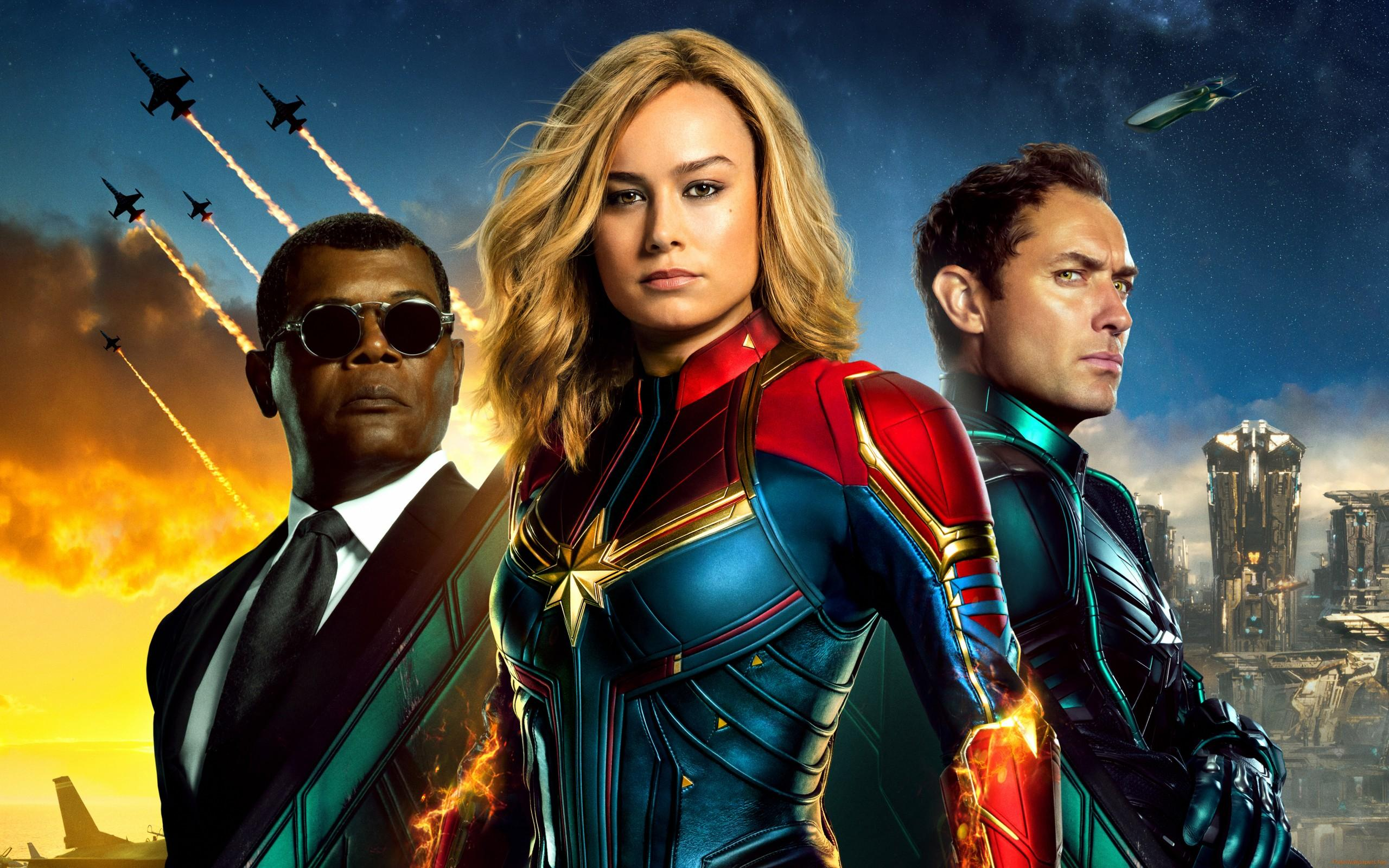 Captain Marvel 2019 wallpapers