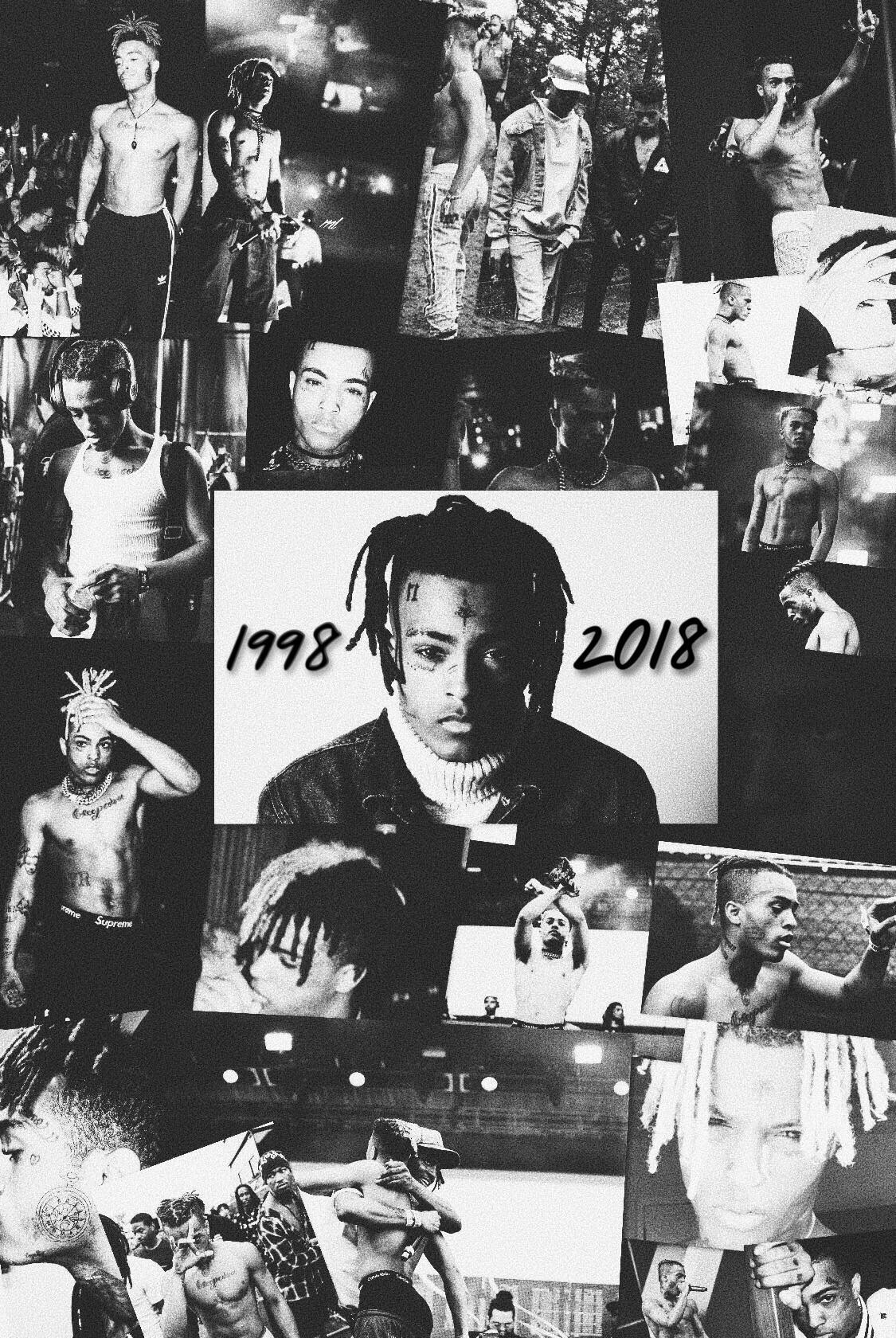 Here's an iPhone wallpaper I made in case anyone likes it : XXXTENTACION