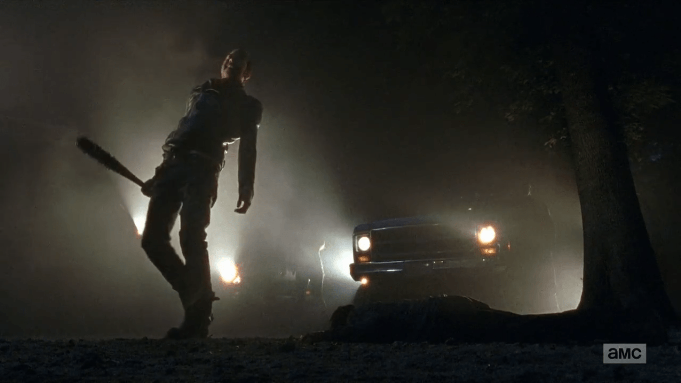 SPOILERS] This image perfectly captures the psychopath that is Negan ...