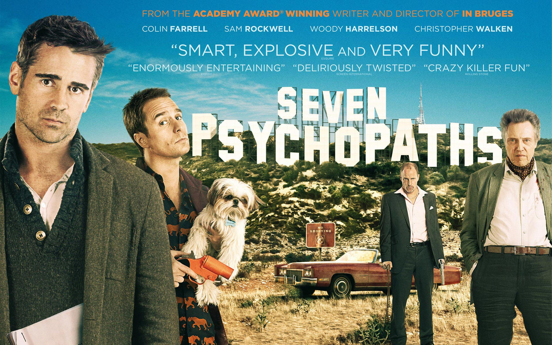 Seven Psychopaths Wallpaper (34+)