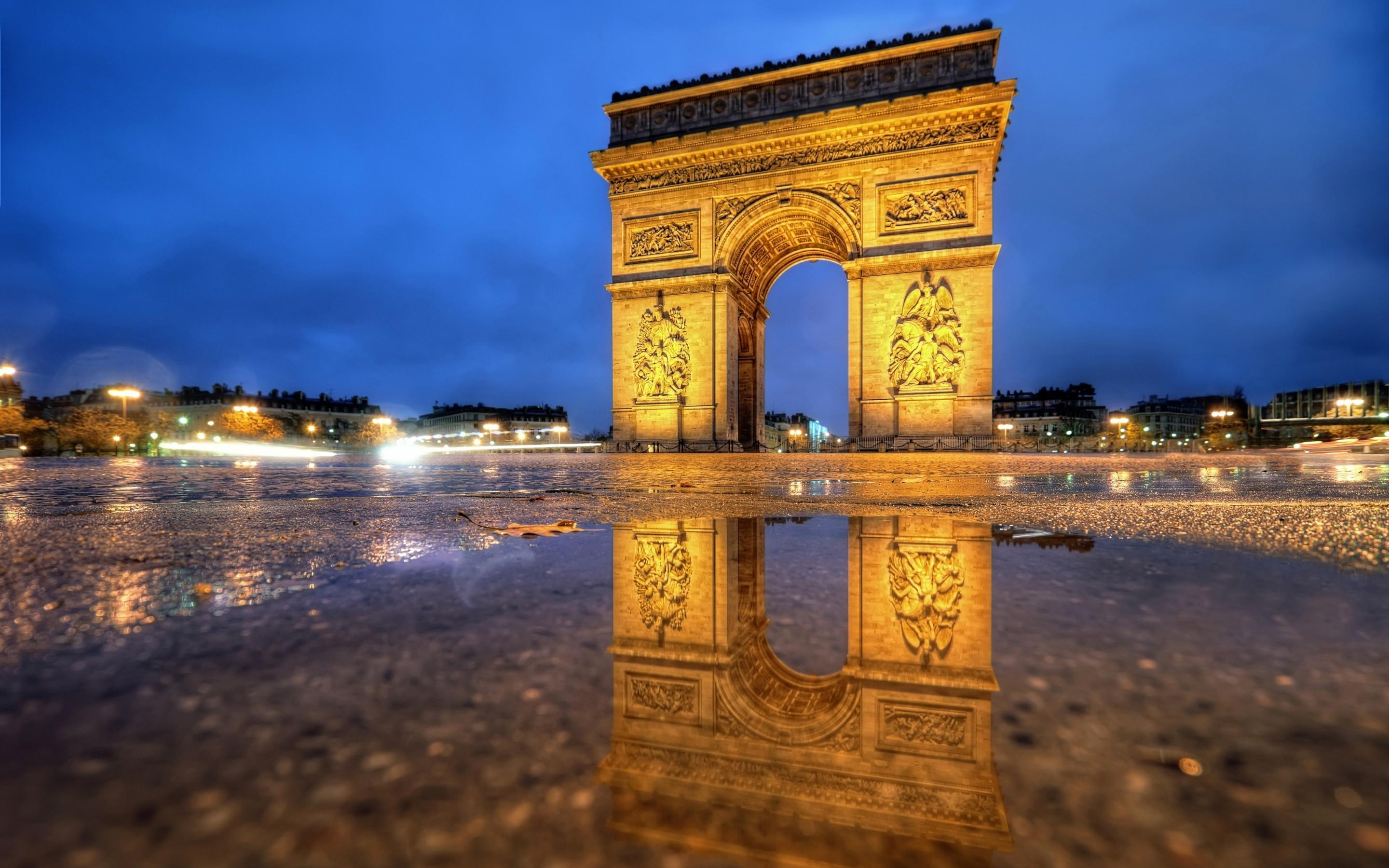 Arc De Triomphe HD Wallpapers