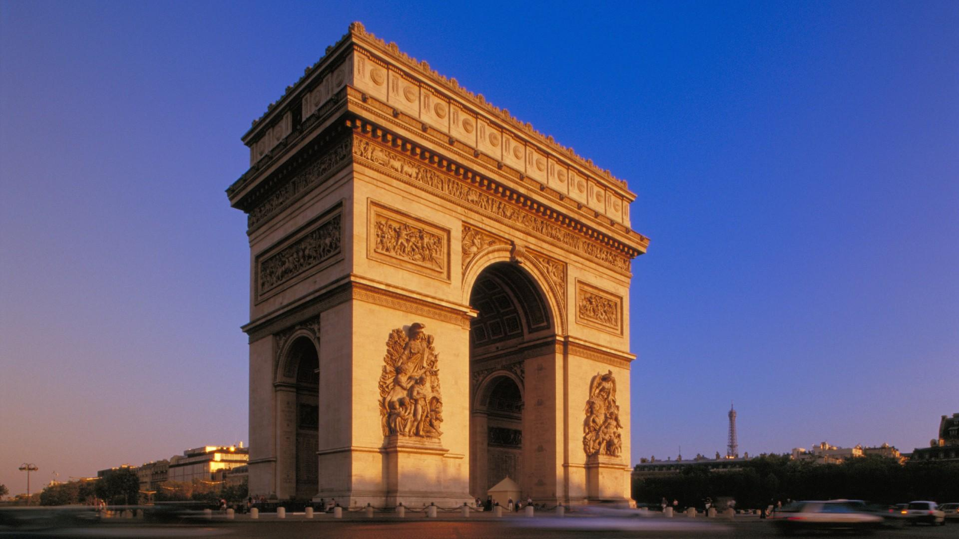Arc De Triomphe Travel Wallpapers – Travel HD Wallpapers