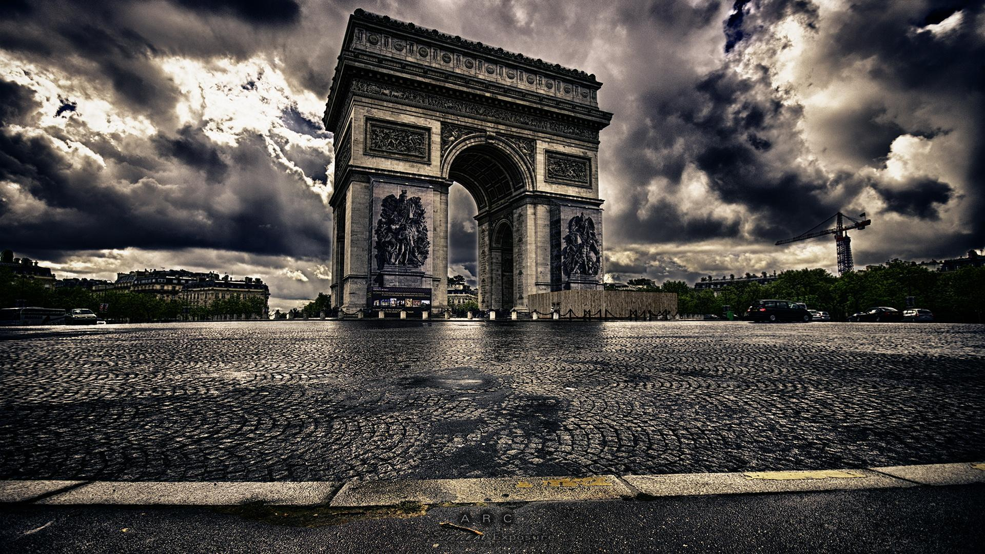 Arc de Triomphe[1920 × 1080] : wallpapers