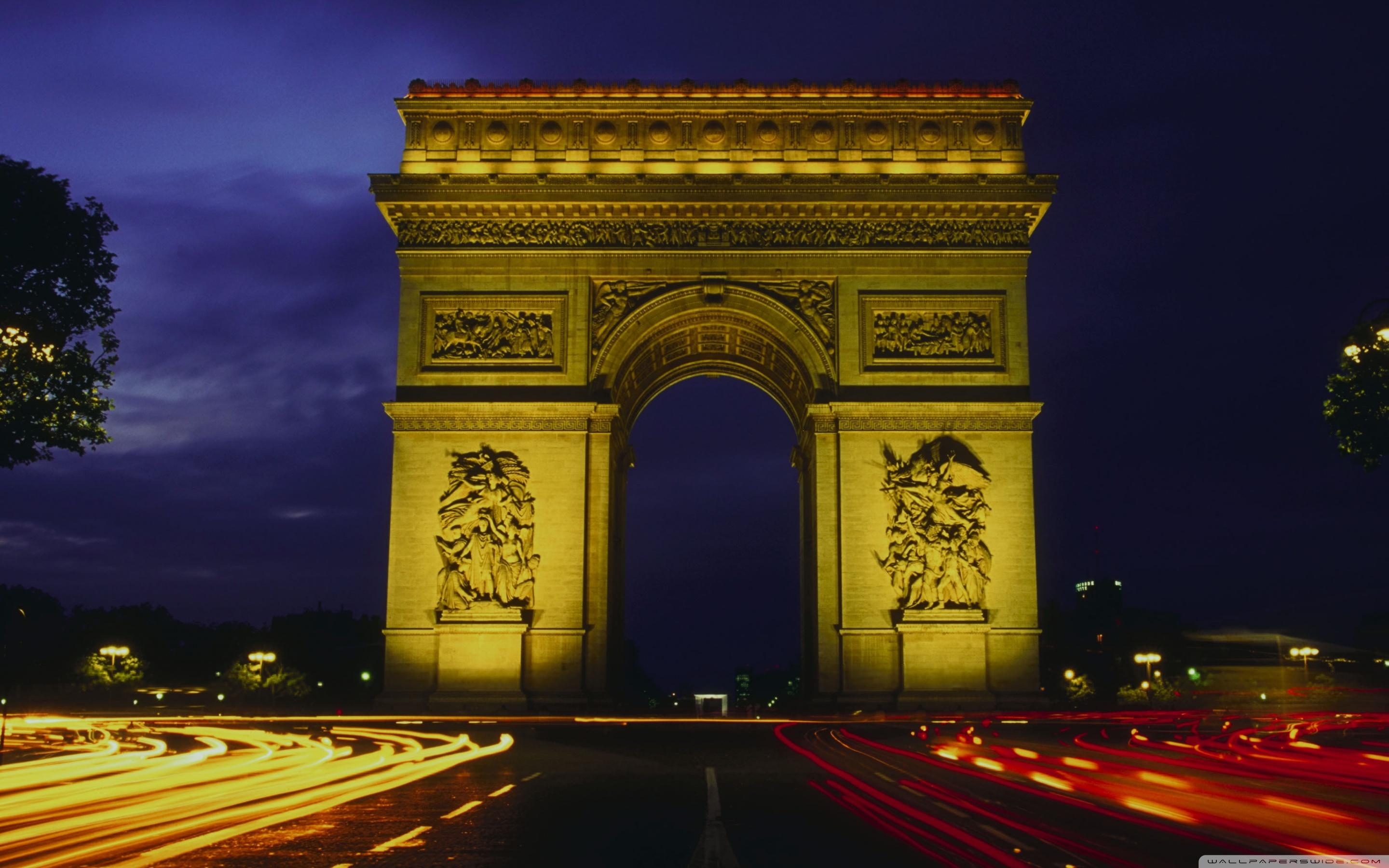 L'arc De Triomphe ❤ 4K HD Desktop Wallpapers for 4K Ultra HD TV