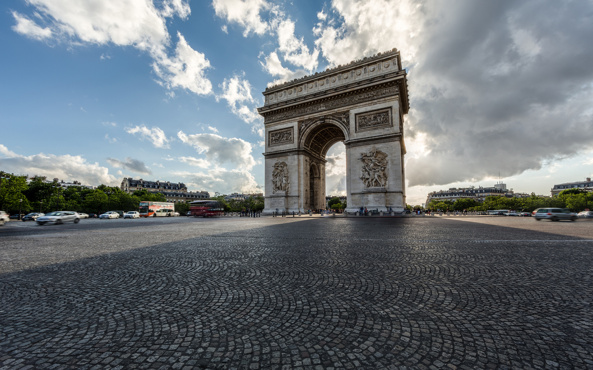 Paris Arc de Triomphe wallpapers