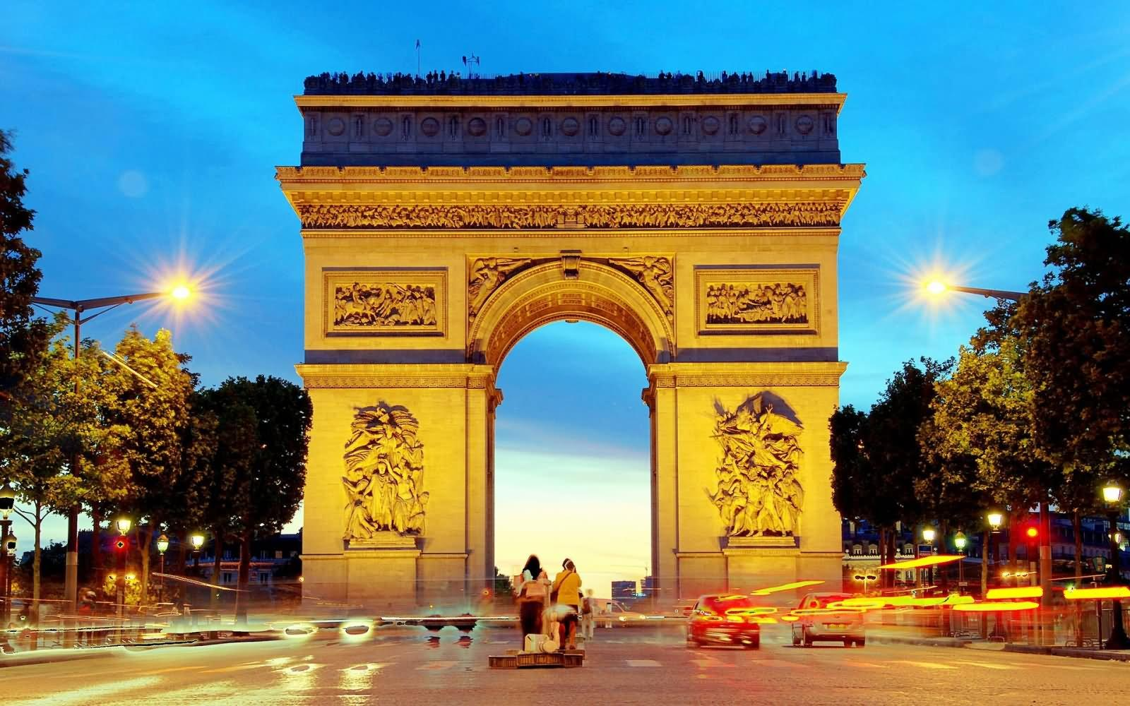 50 Awesome Arc de Triomphe Night Pictures