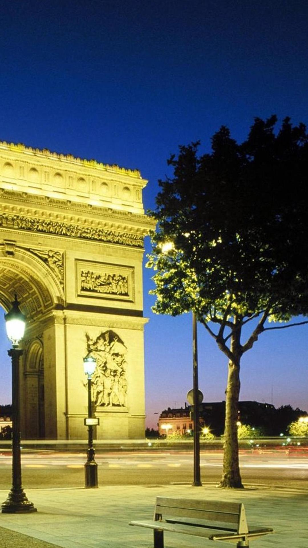 Paris Arc De Triomphe Android wallpapers