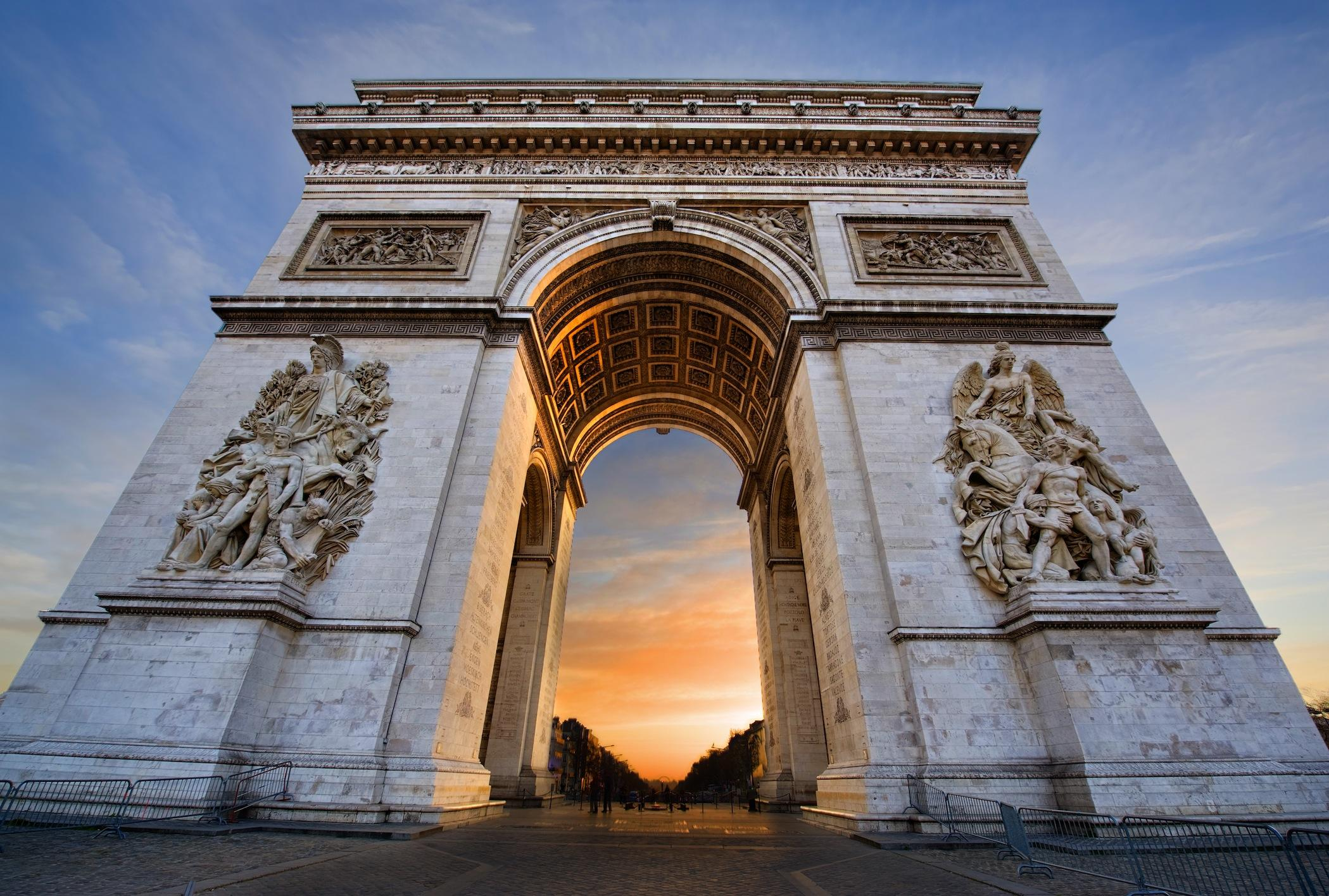 Arc De Triomphe Wallpapers High Resolution