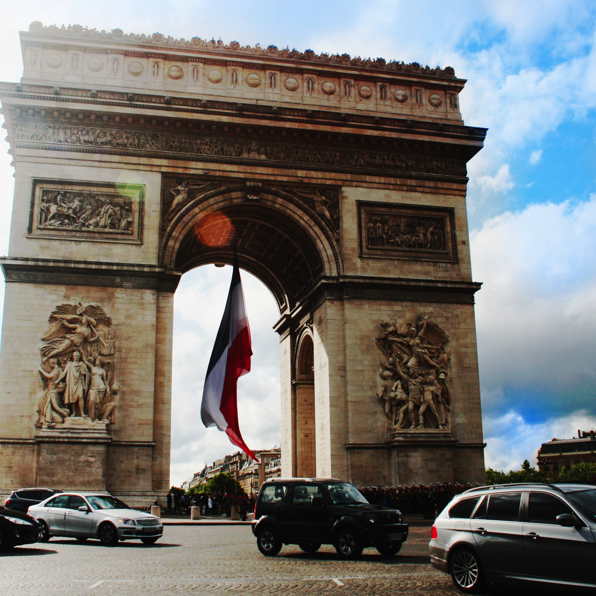 Arc de Triomphe - iPad Wallpaper for iPhone X, 8, 7, 6 - Free ...