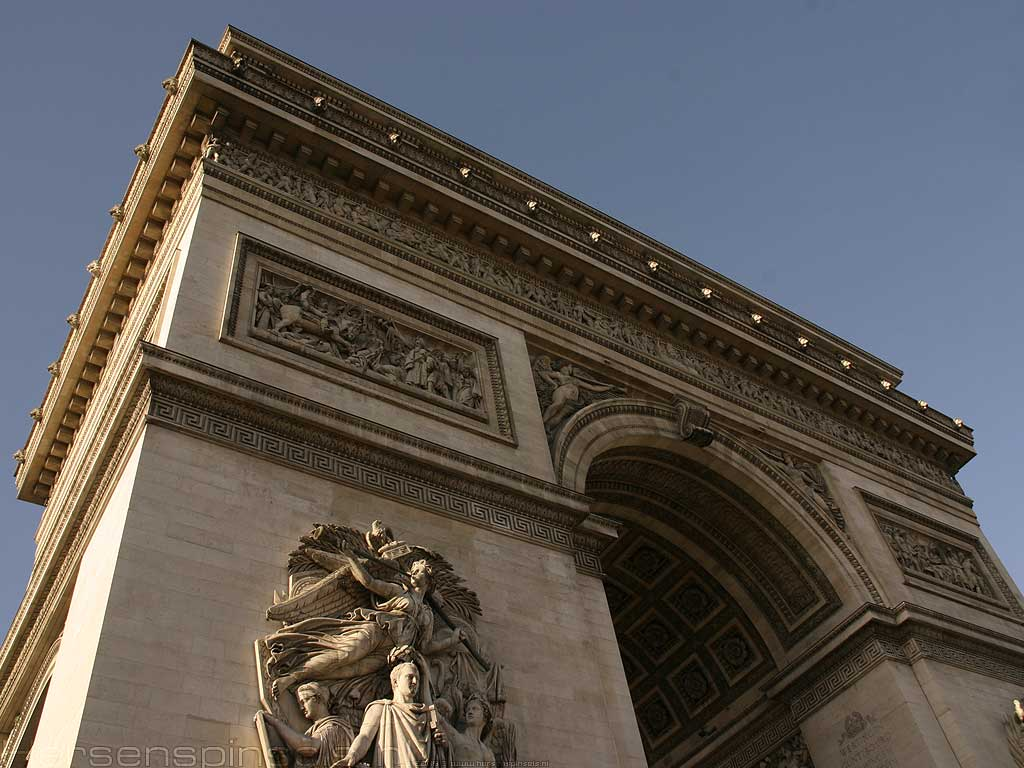Wallpaper: 'Arc de Triomphe'
