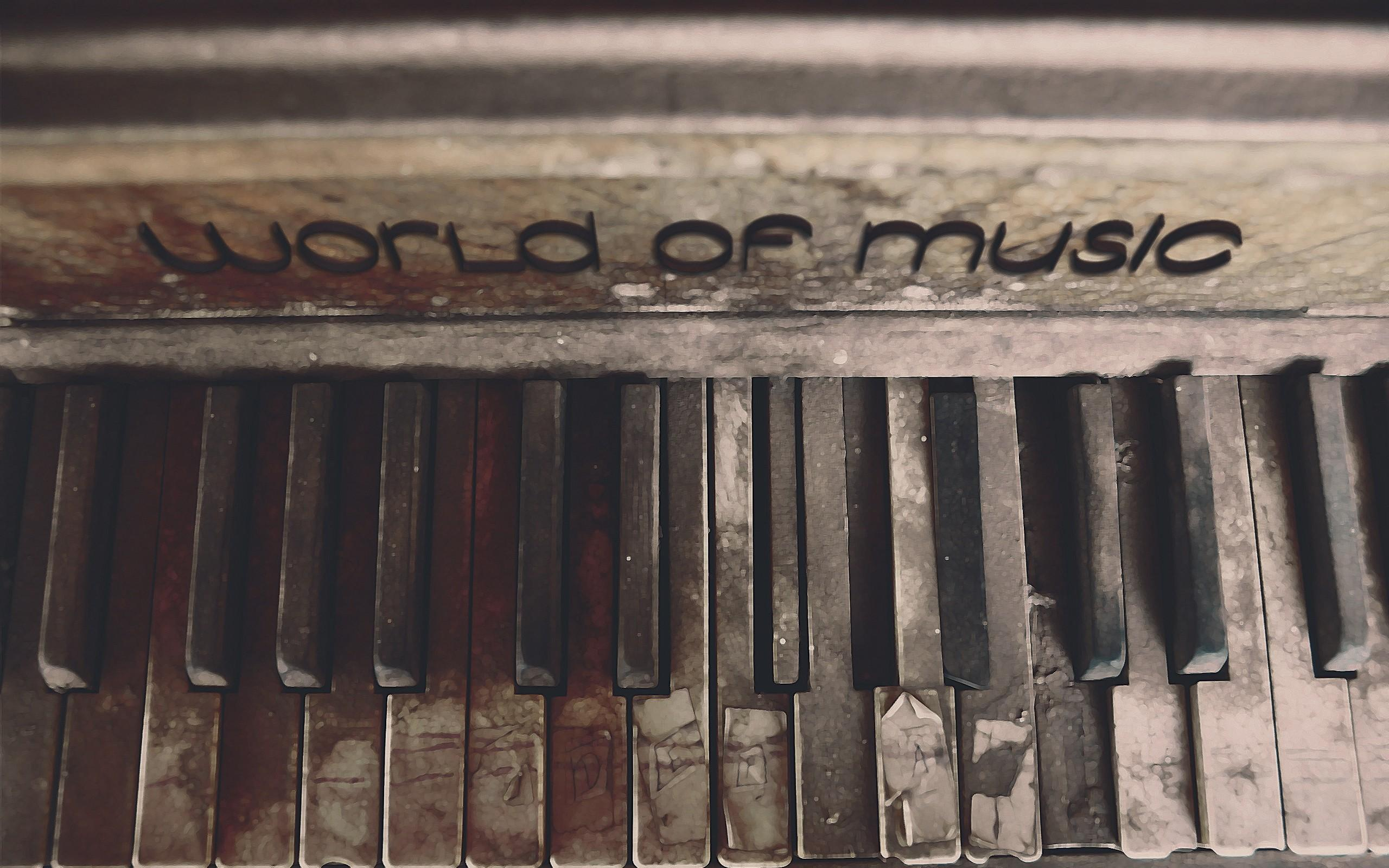 World music old piano wallpapers and image