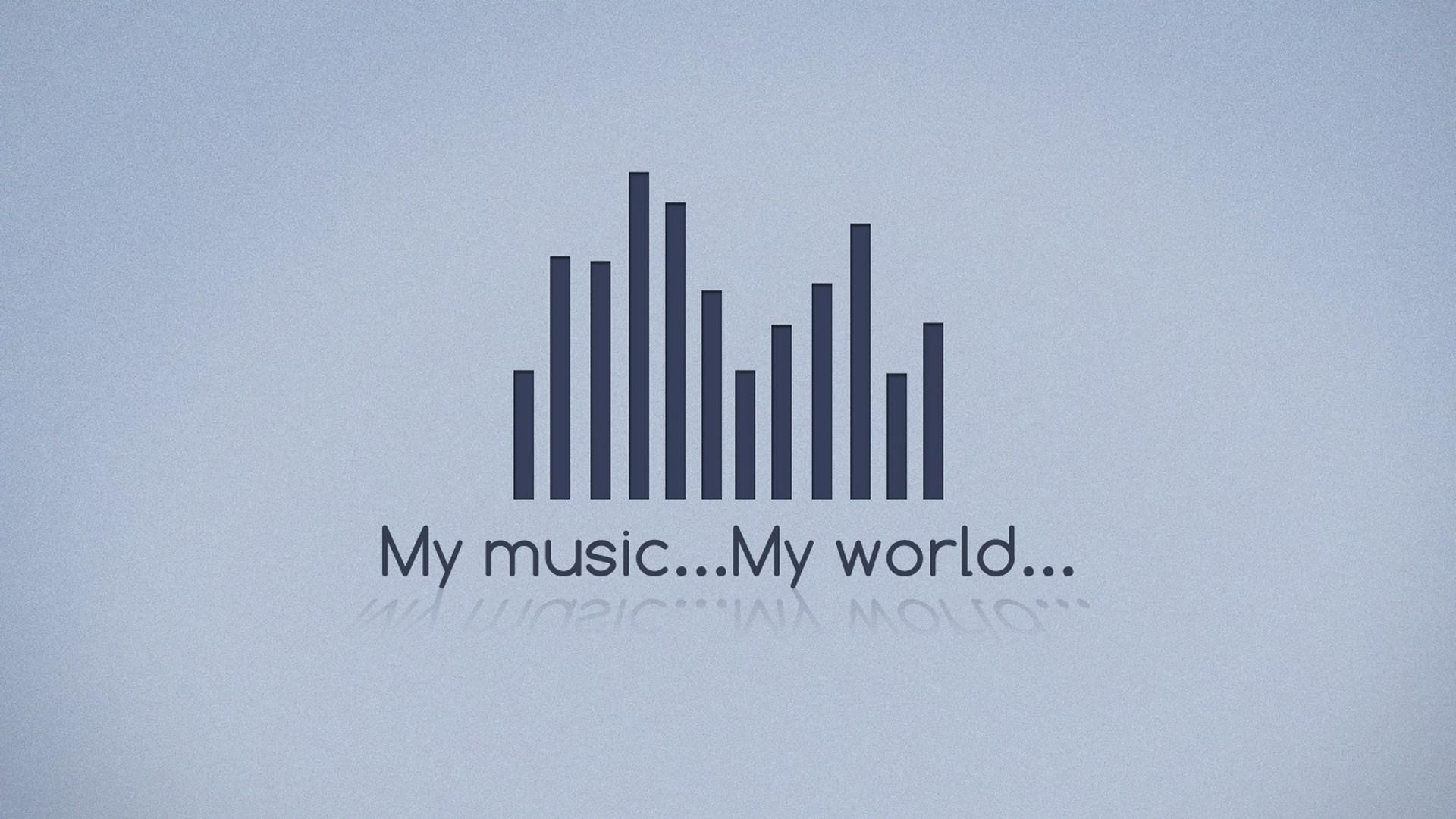 minimalistic, music, world :: Wallpapers