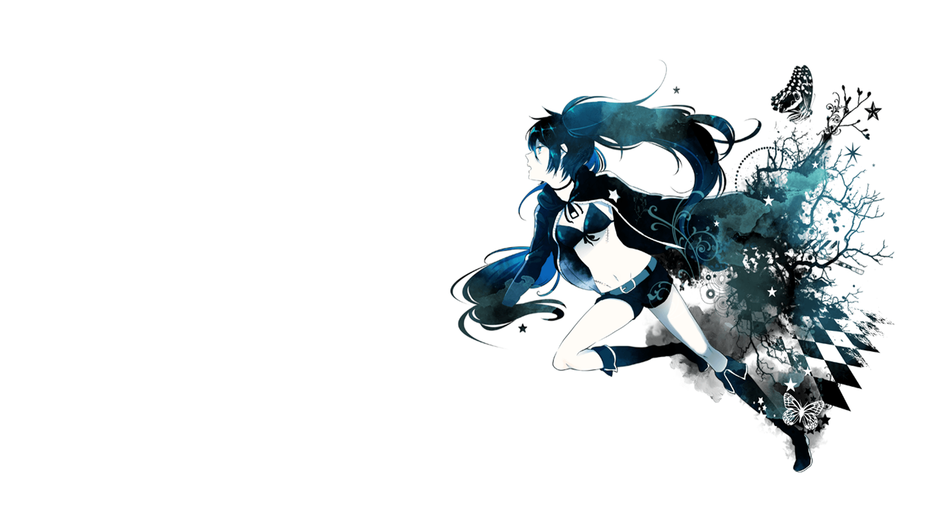 Black Rock Shooter HD Wallpaper | Background Image | 1920x1080 | ID ...