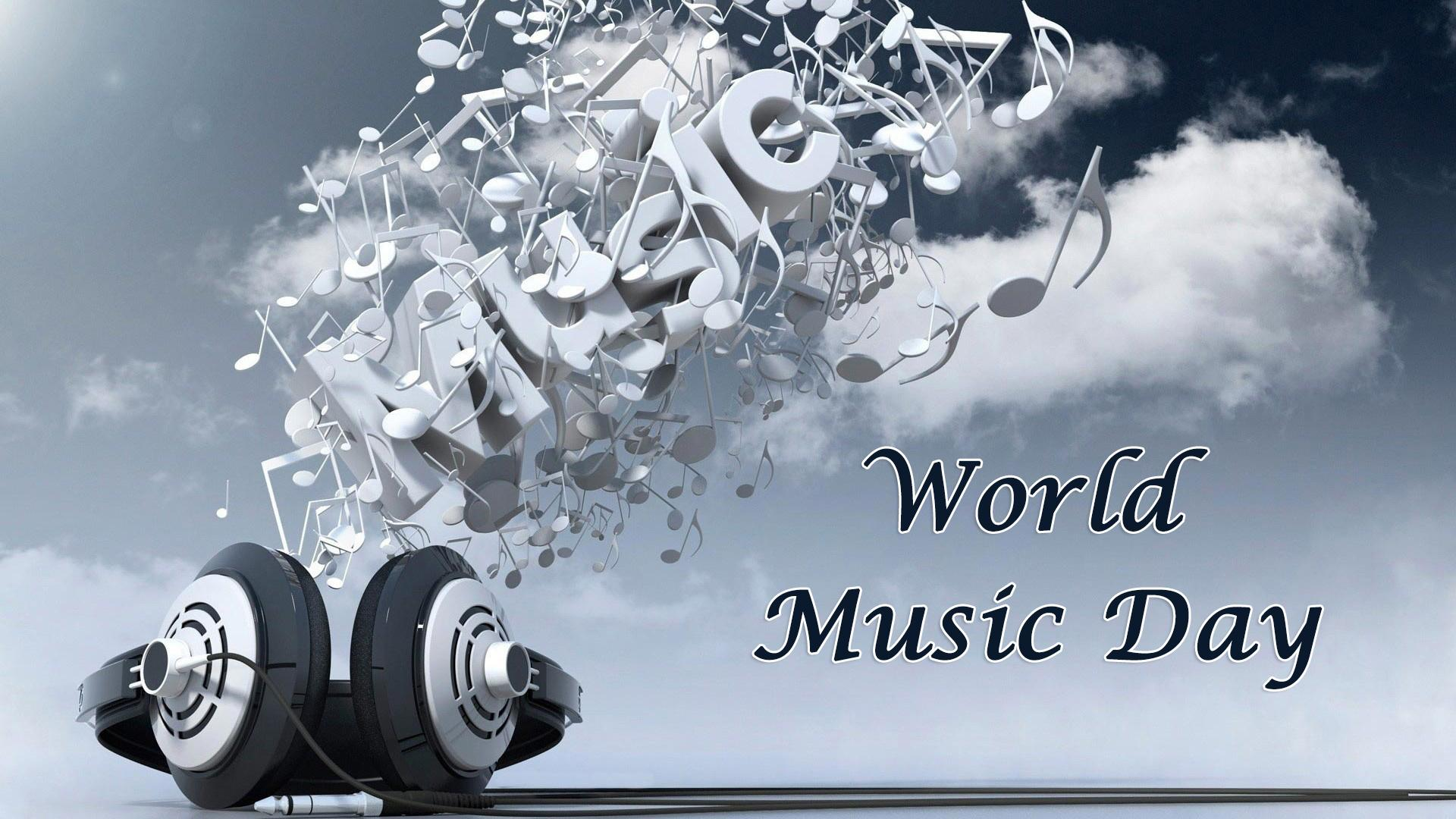 World Music Day Headphones Music Black Backgrounds Akg
