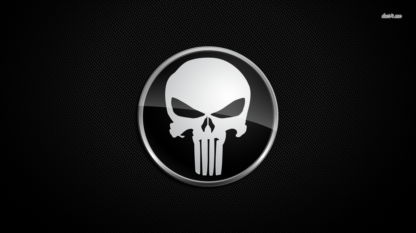1366x768 Punisher Wallpapers