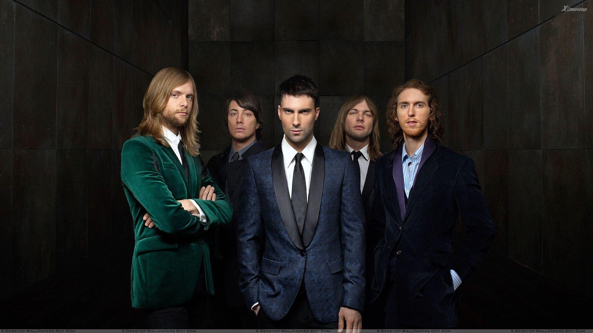 Maroon 5 – Adam Levine In American Pop Rock Band Wallpapers