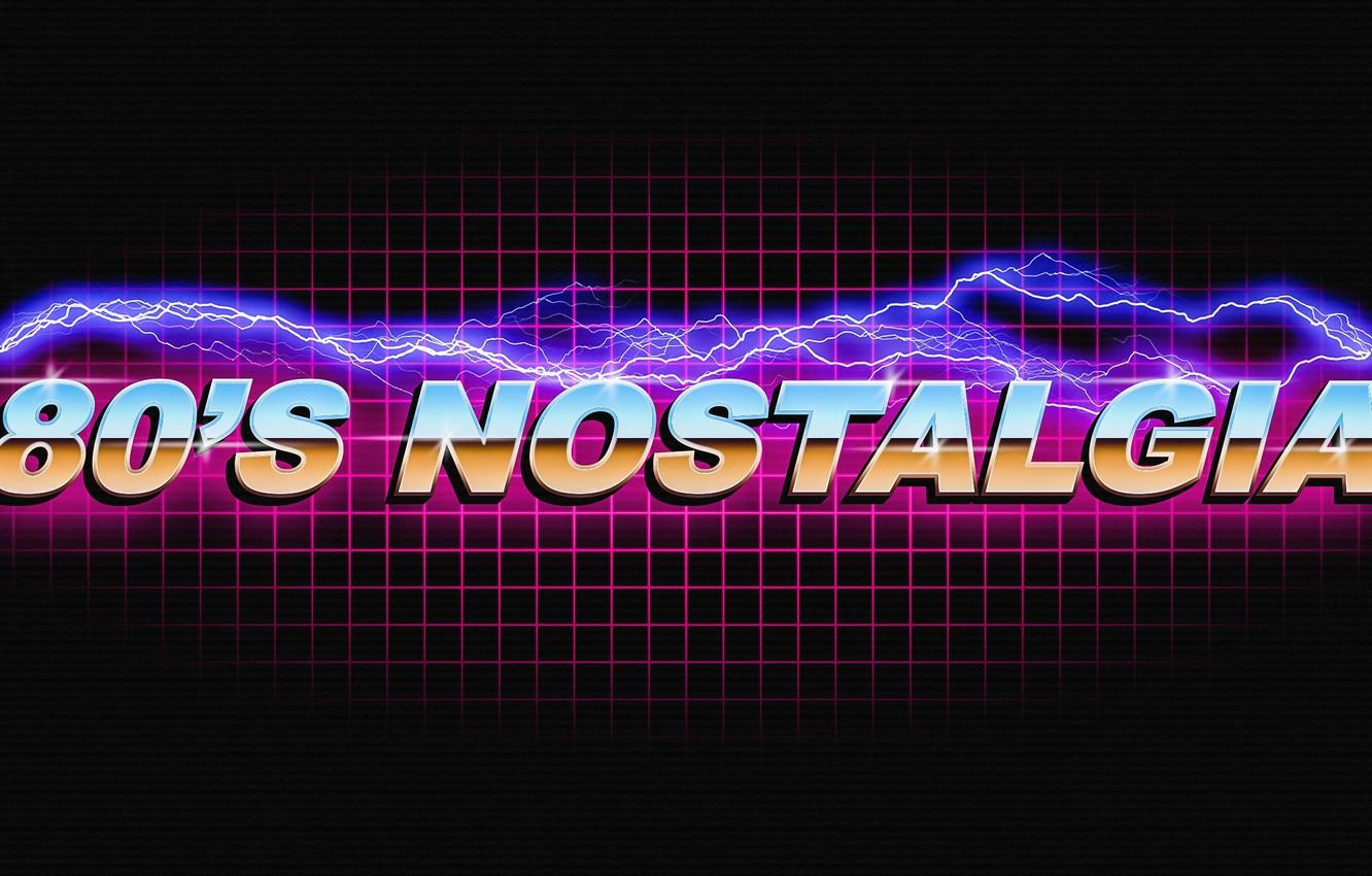 Wallpapers Music, Neon, Retro, Lightning, Background, Electronic
