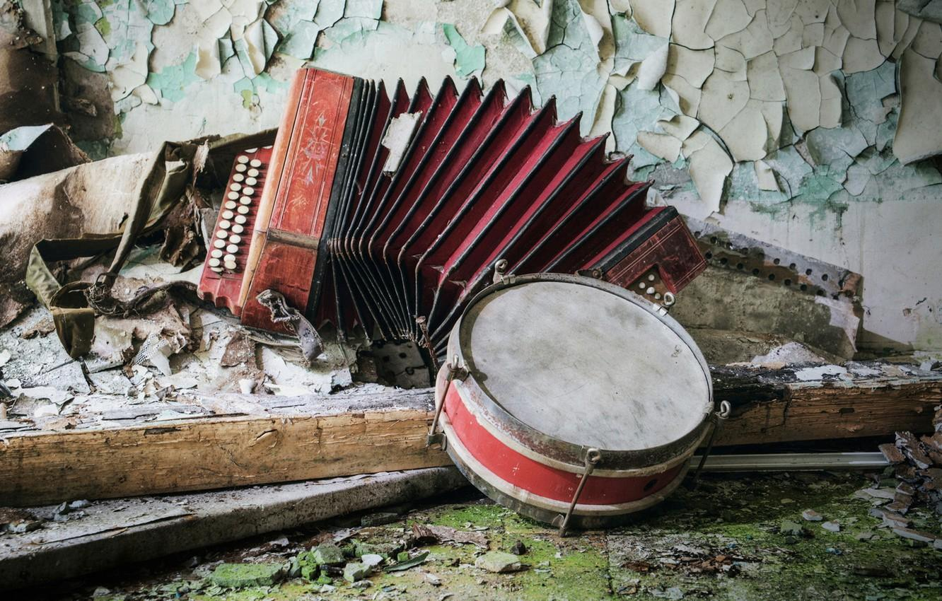Wallpapers music, accordion, tambourine image for desktop, section