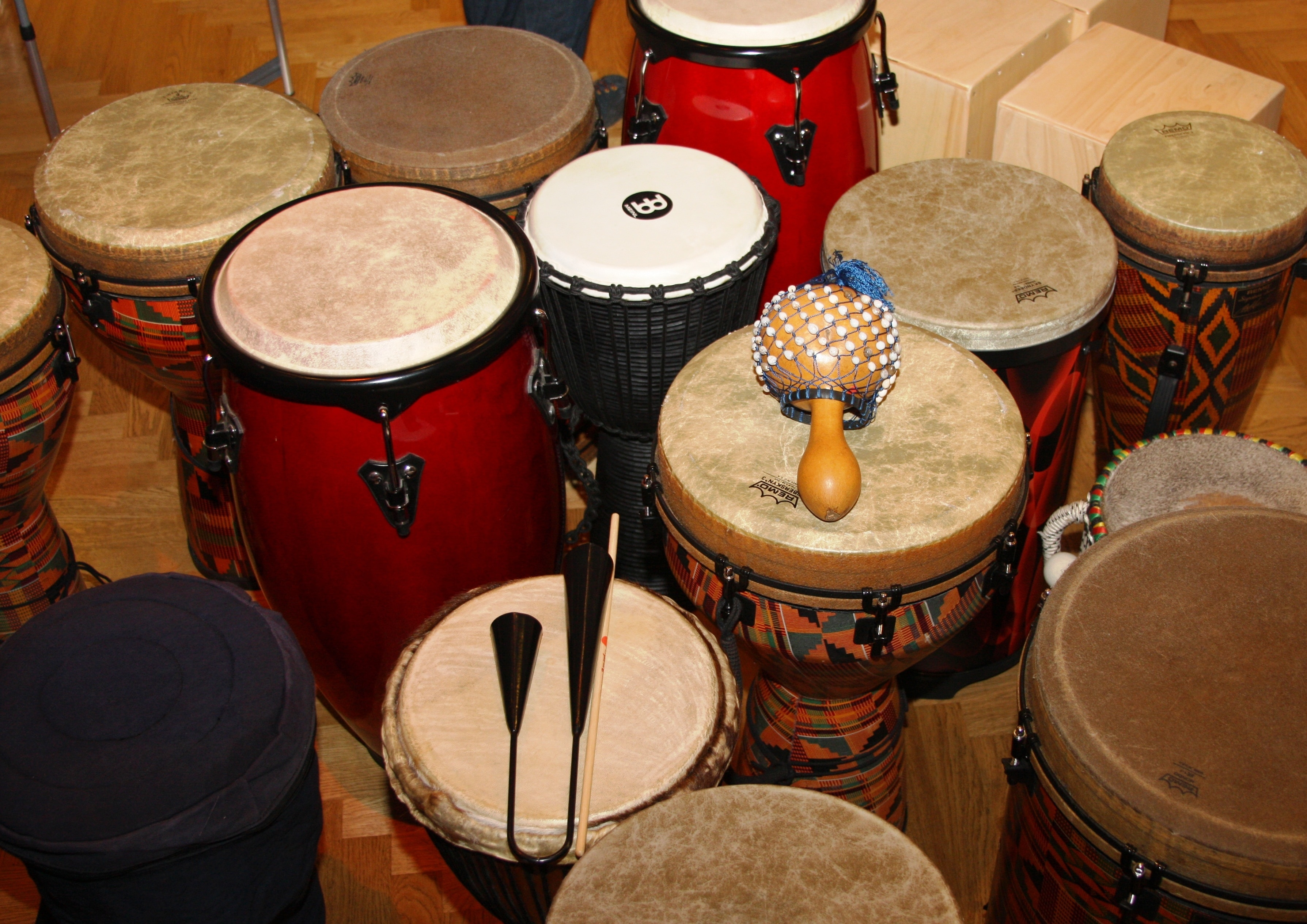 percussion instrument lot free image