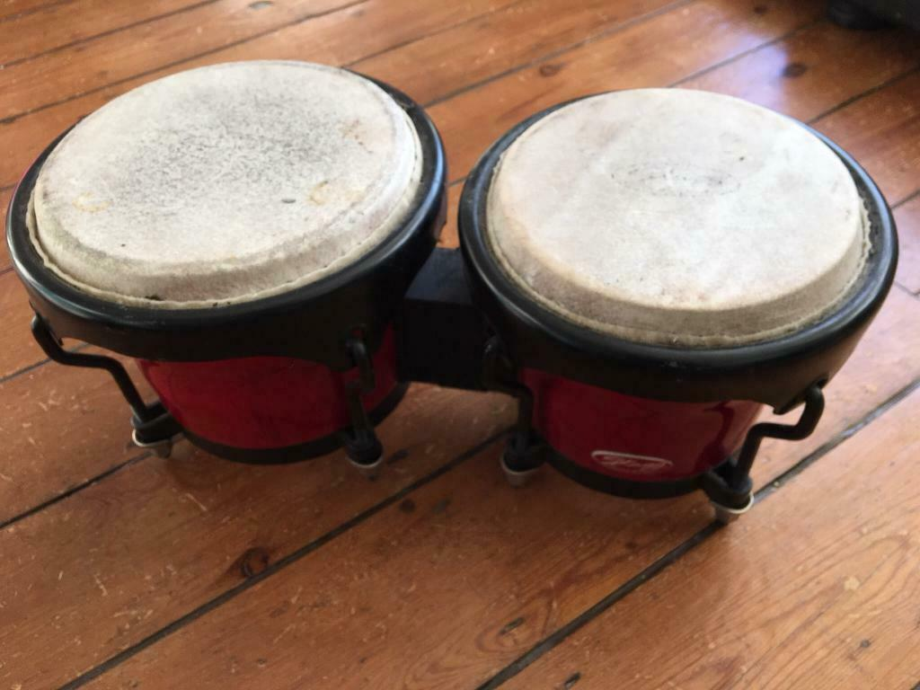 2 image Stagg bongo drum percussion