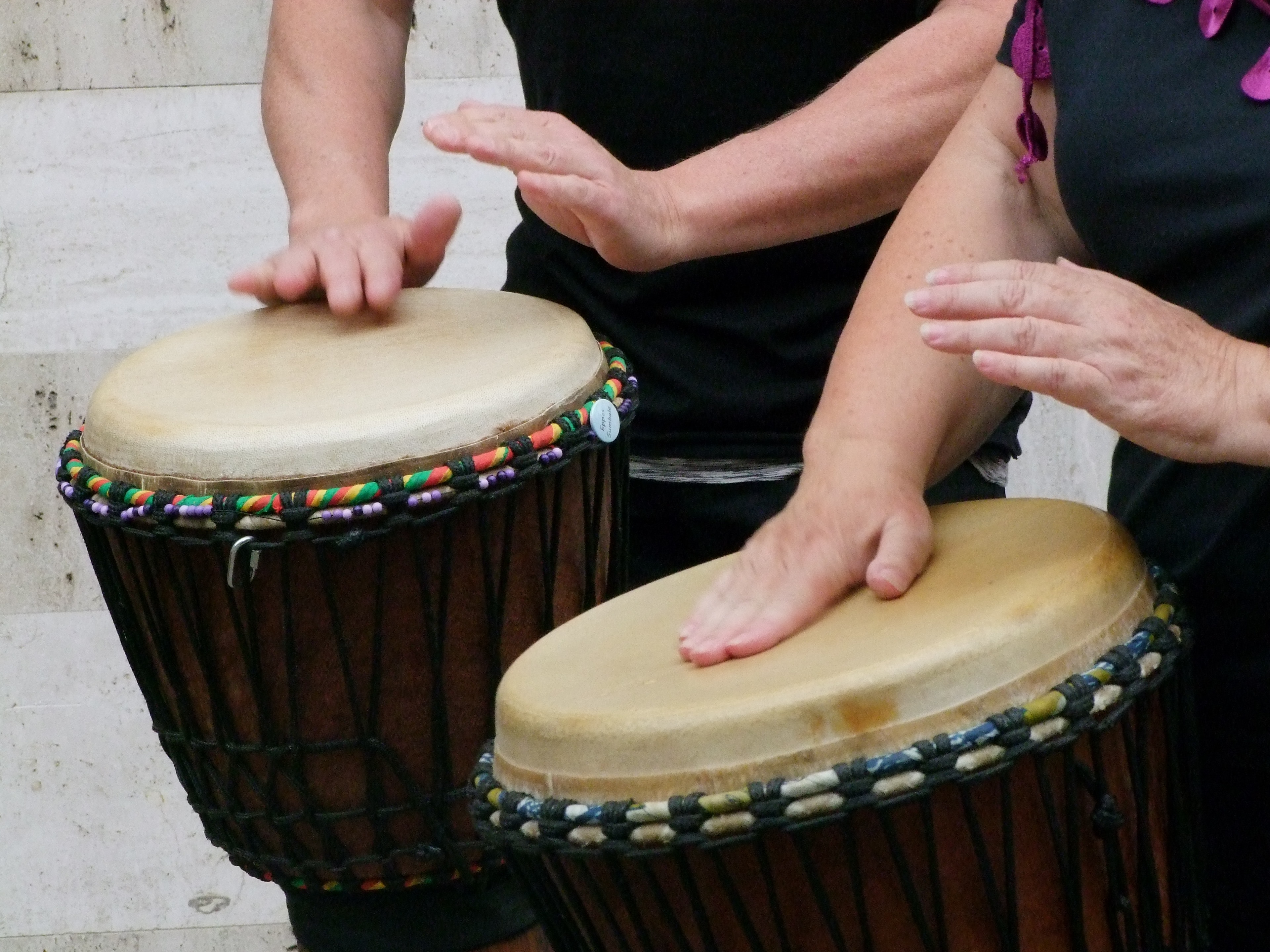 brown and beige conga drum free image