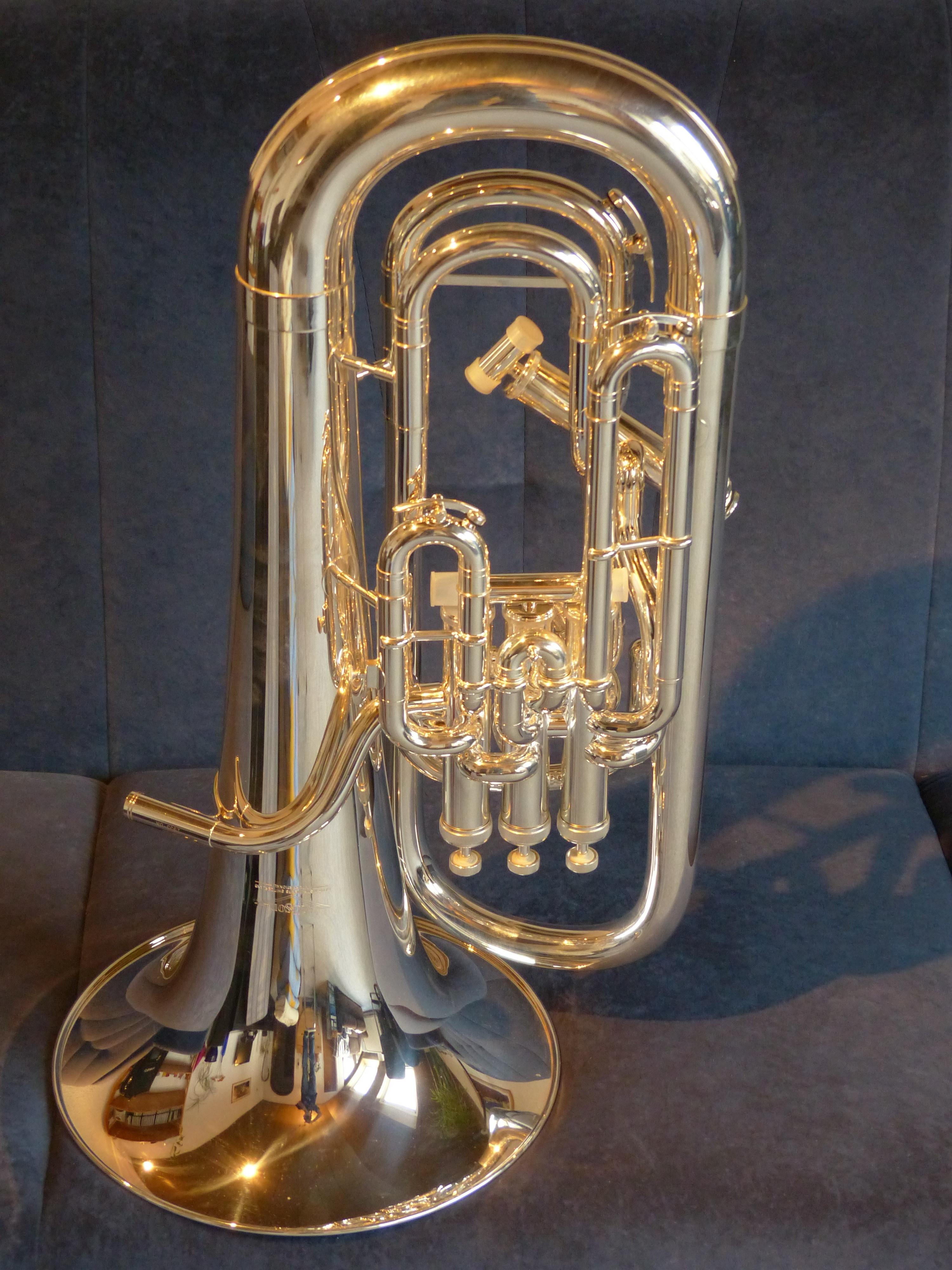 Brass Instrument, Euphonium, Instrument, music, gold colored free