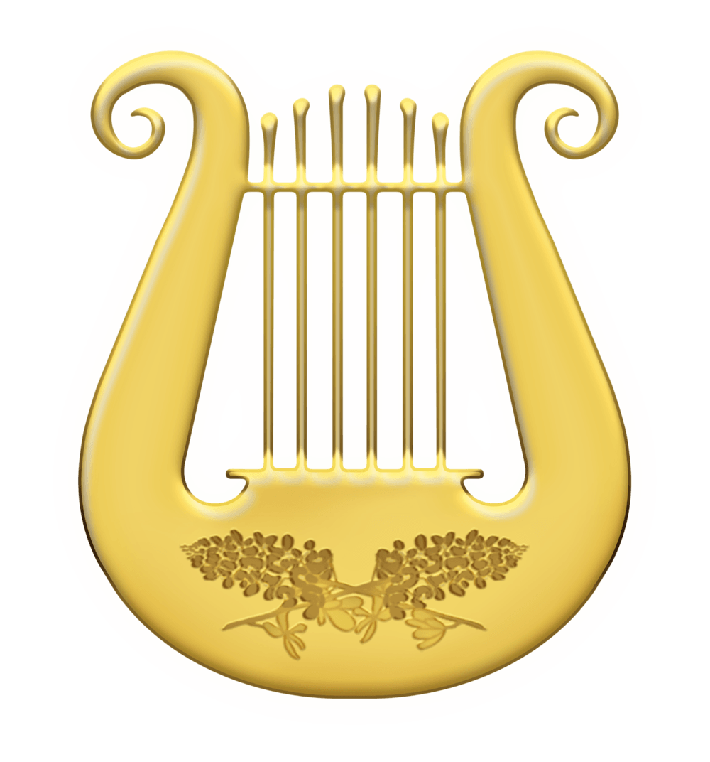 Lyre png 9 » PNG Image
