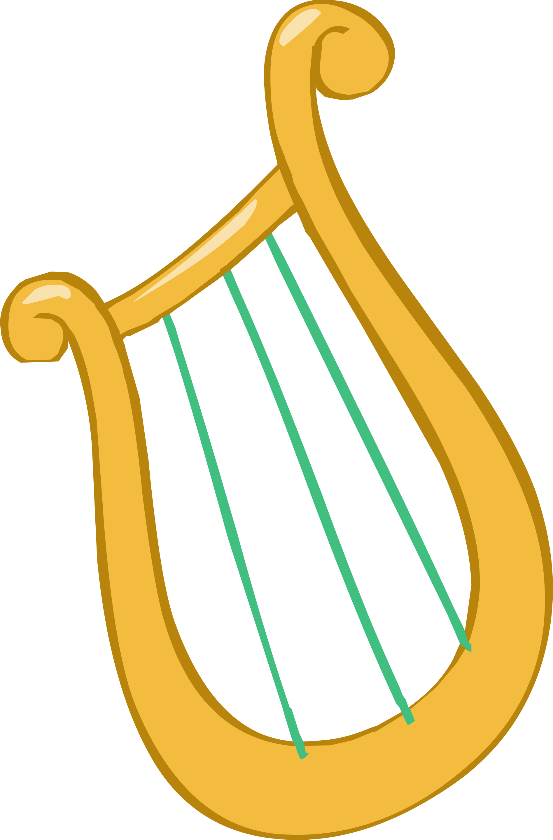 Lyre png 5 » PNG Image