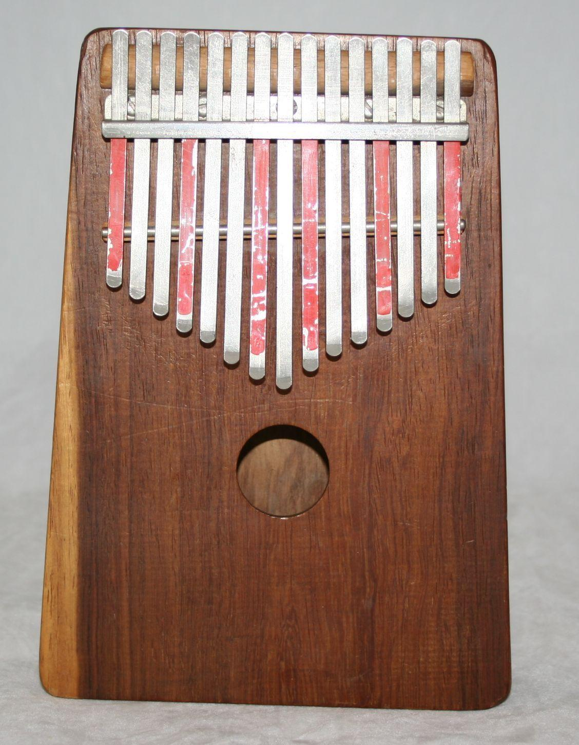 Kalimba Hugh Tracey African Musical Instrument Thumb Piano 15 Note