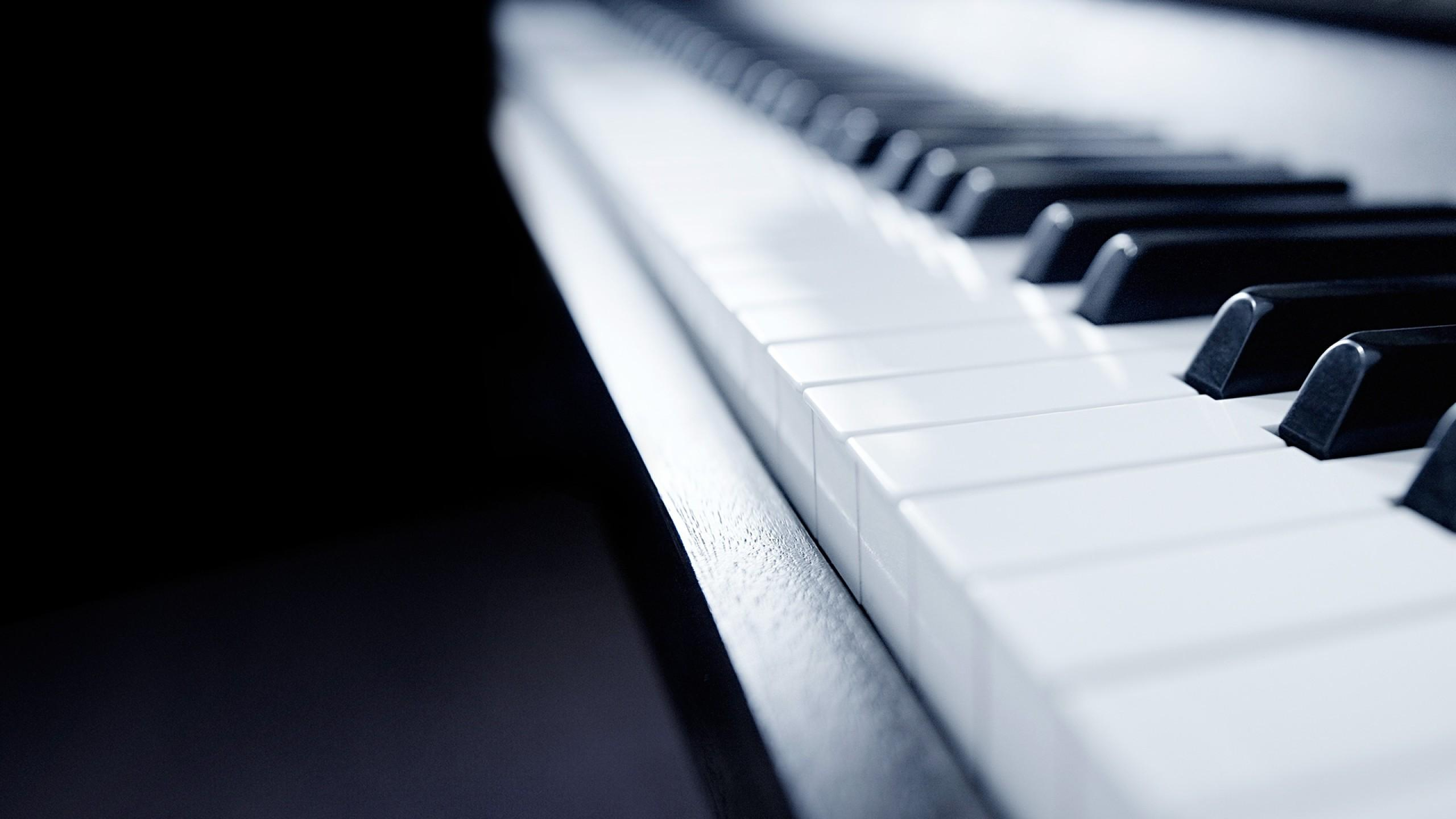 Download 2560x1440 Piano Keyboard, Music, Instrument Wallpapers for ...