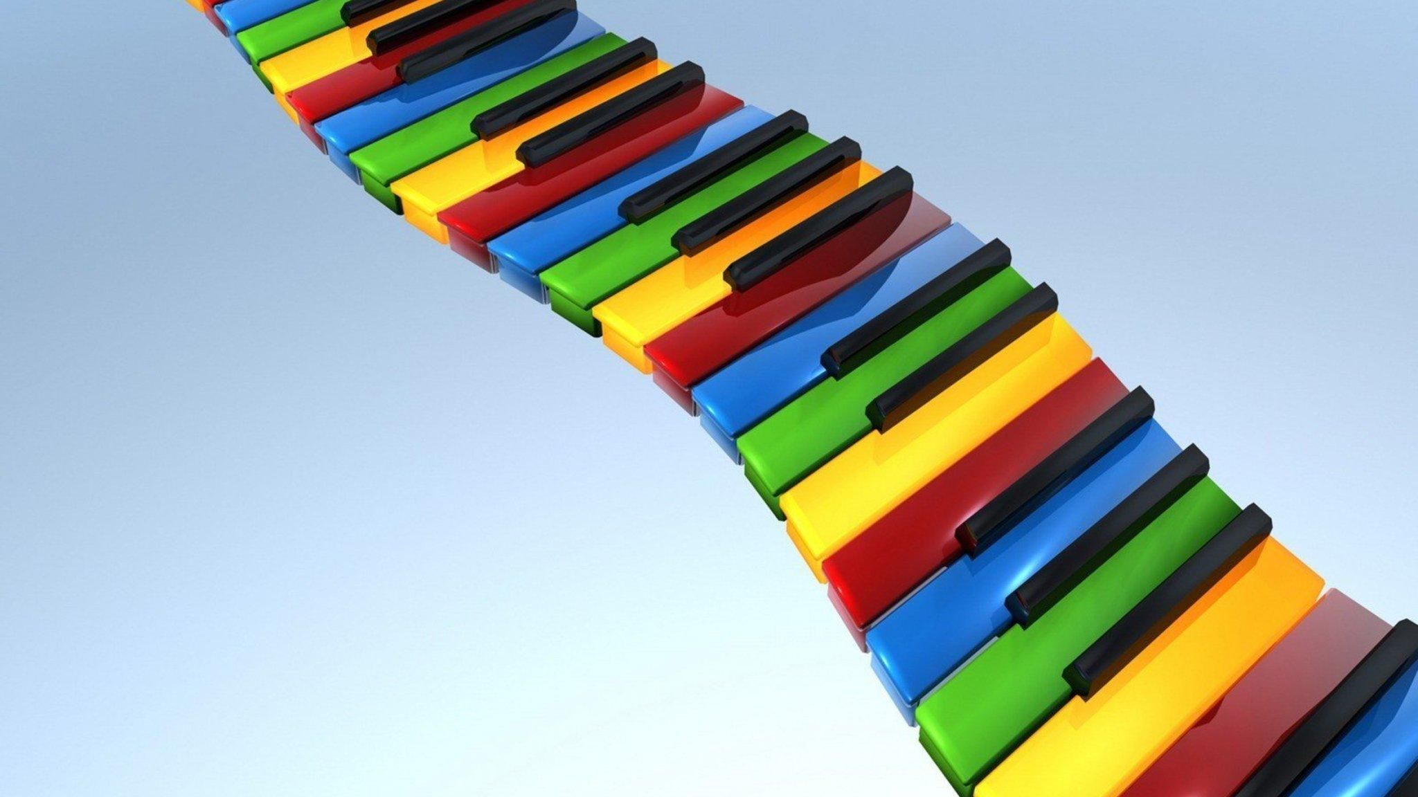 2048x1152 Colorful Piano 2048x1152 Resolution HD 4k Wallpapers ...