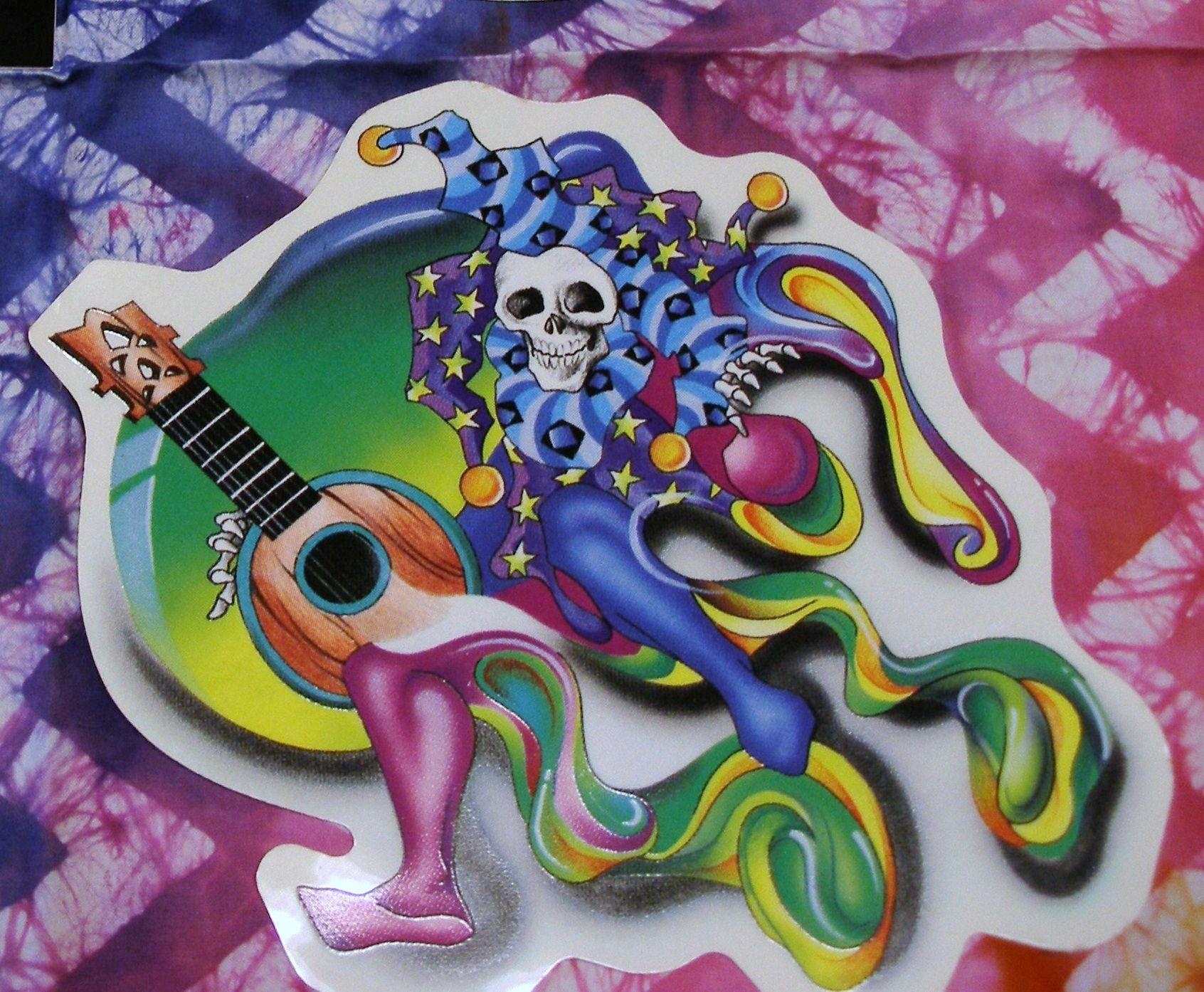 Grateful Dead Jester with Mandolin