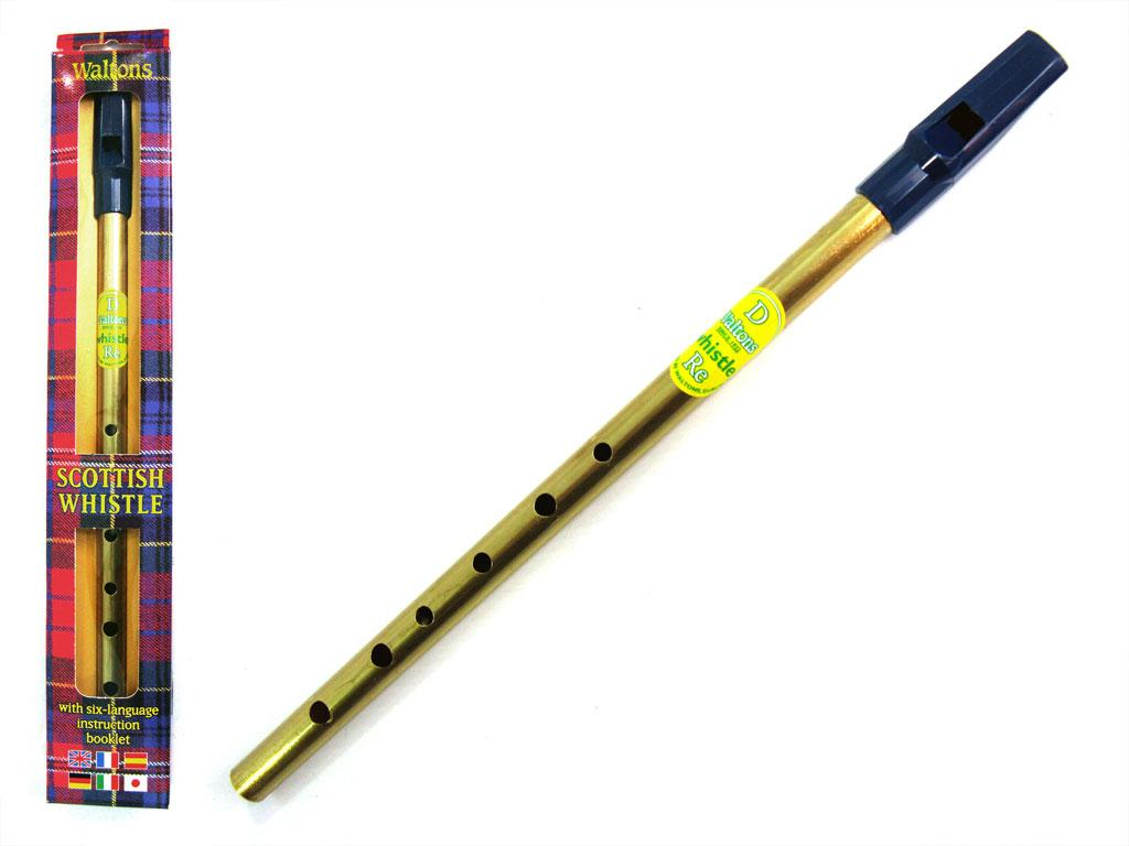 WALTONS PENNY WHISTLE 'SCOTTISH' Key Of 'D'