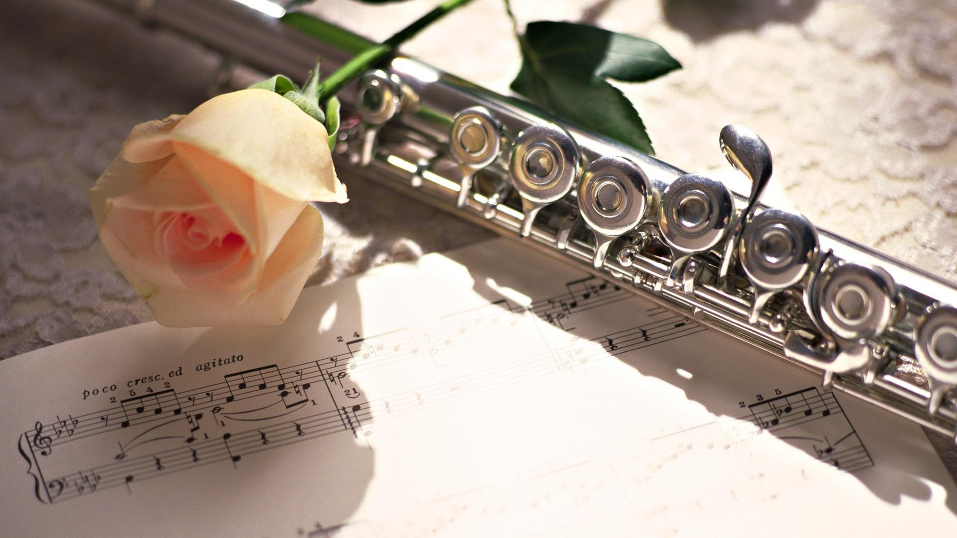 Download 1920x1080 Wallpapers Flute, Piccolo, Musical Instrument