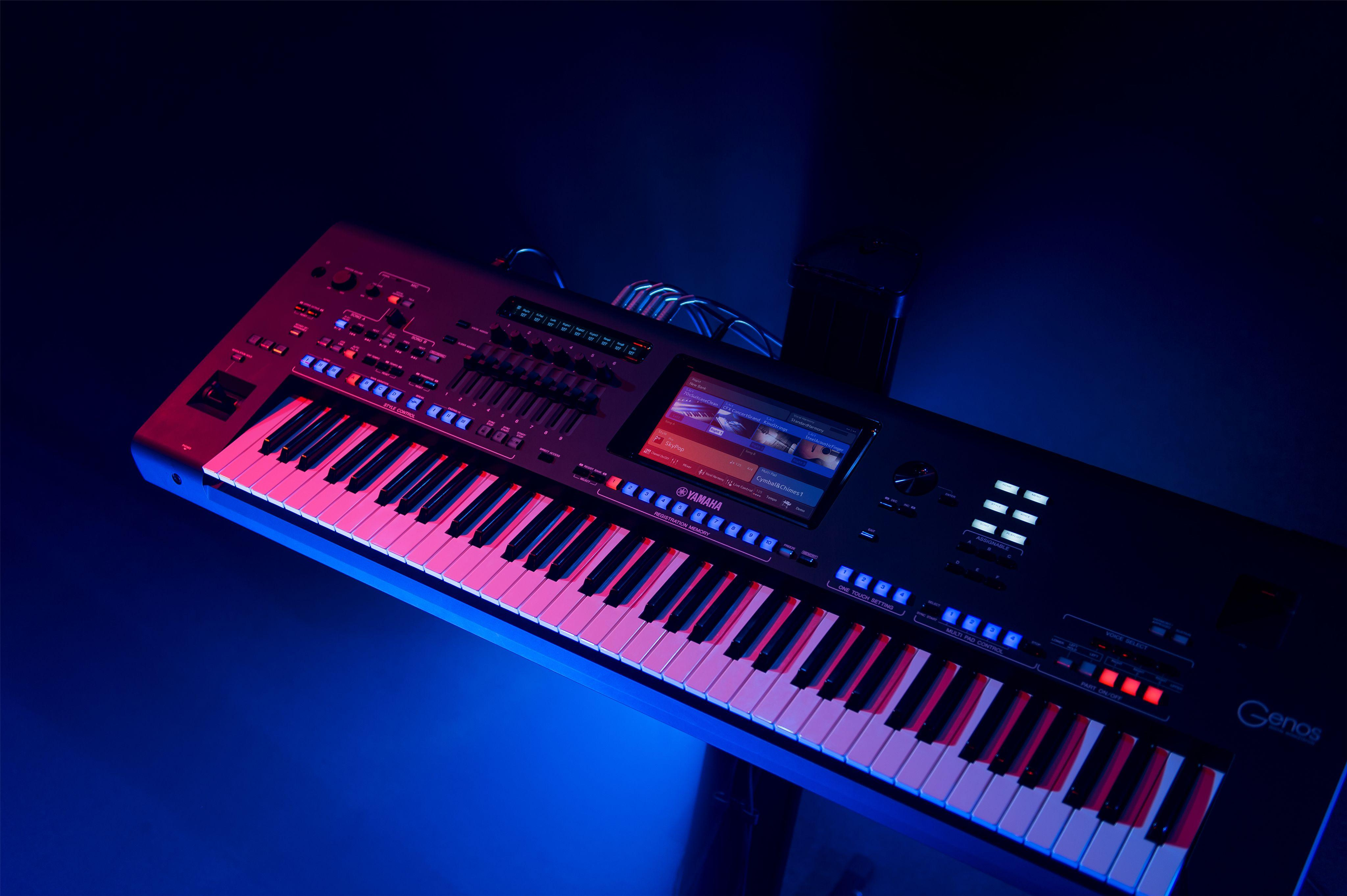 Yamaha Keyboards Wallpapers Wallpaper Cave