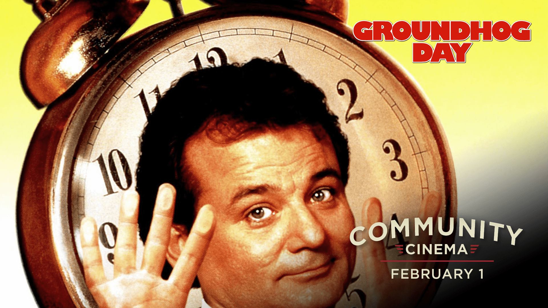 GROUNDHOG DAY Free Outdoor Screening