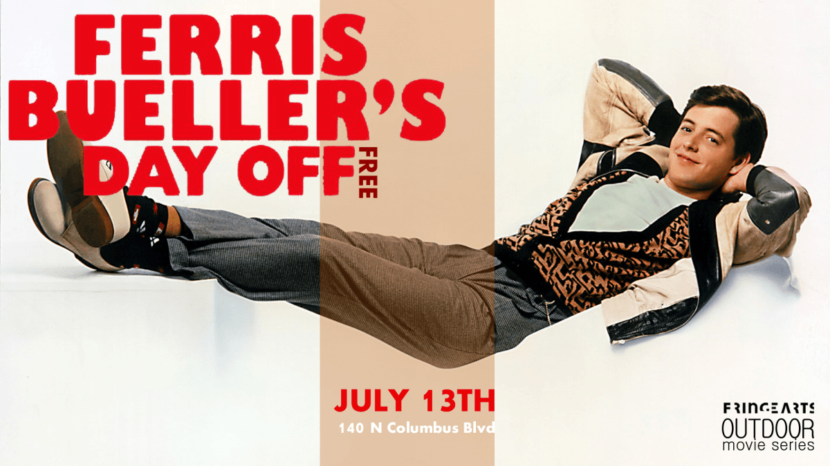 Outdoor Movie: Ferris Bueller's Day Off – FringeArts
