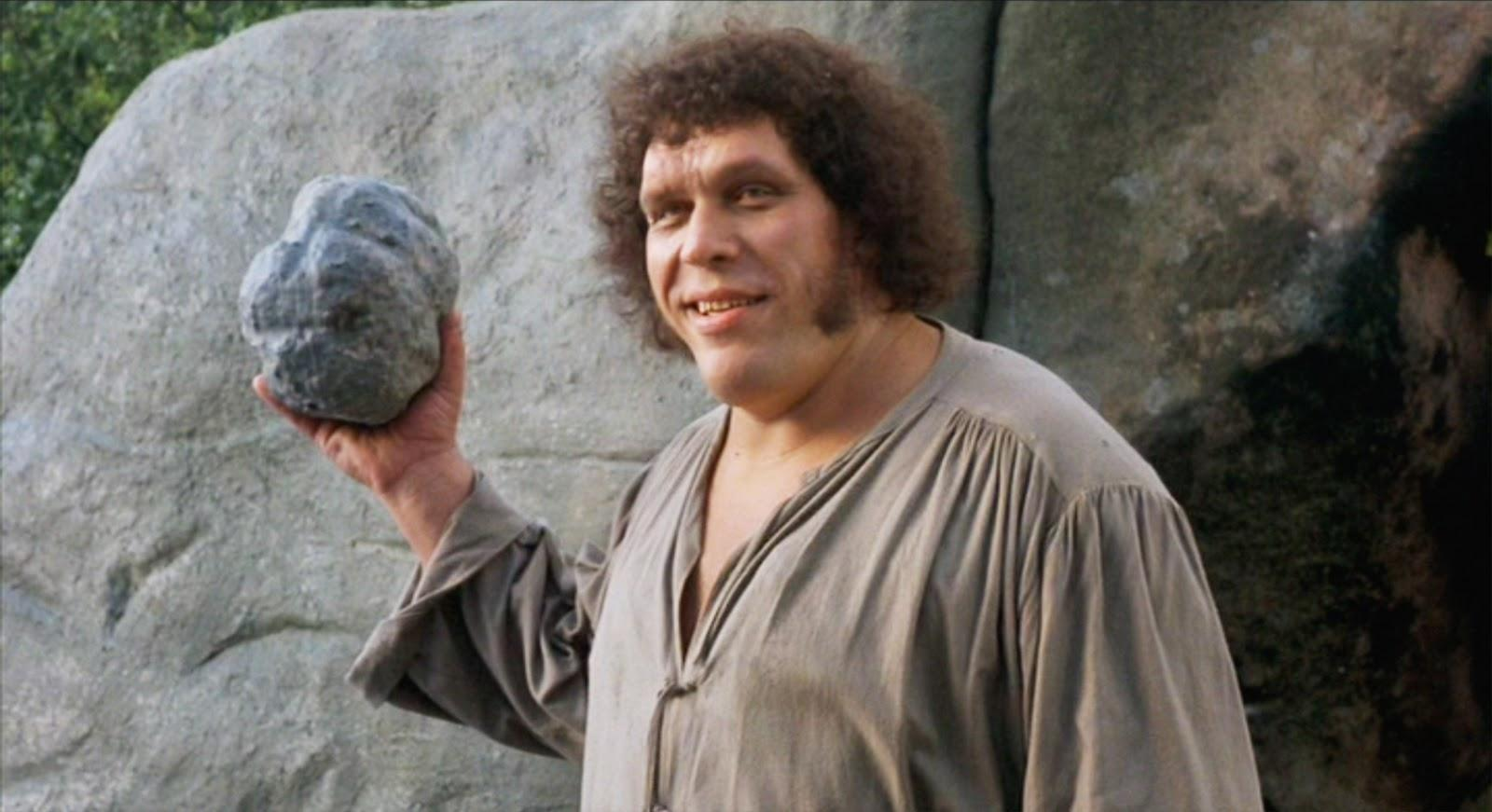 Andre the Giant in The Princess Bride