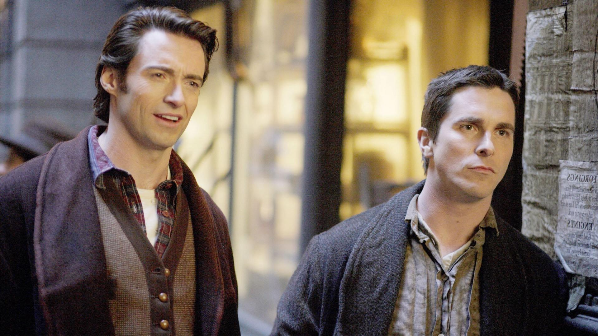 movies the prestige christian bale hugh jackman wallpaper and background