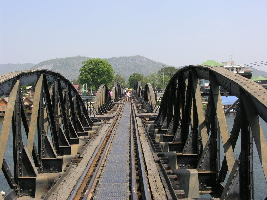 The real bridge over the River Kwai - Thai Spas Now