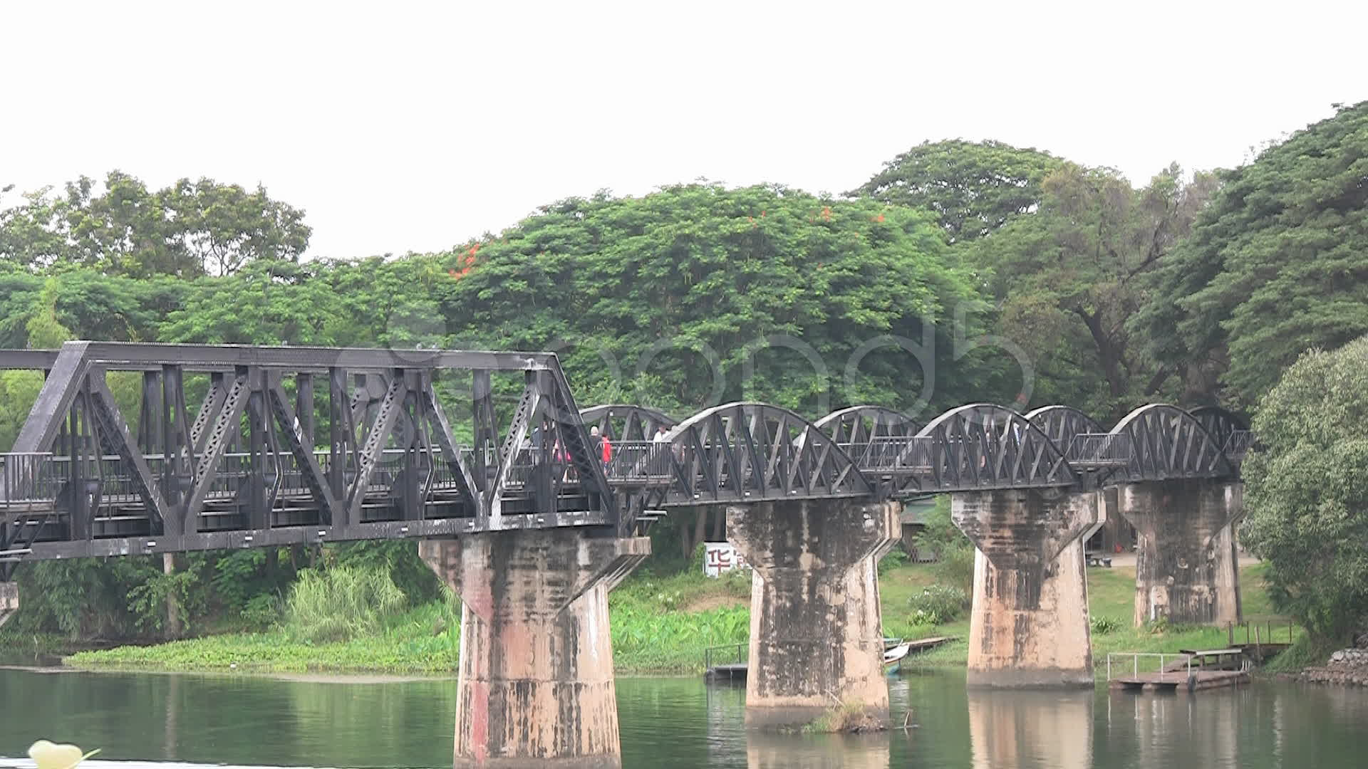 Bridge on the River Kwai ~ Video Clip #8945052 | Pond5