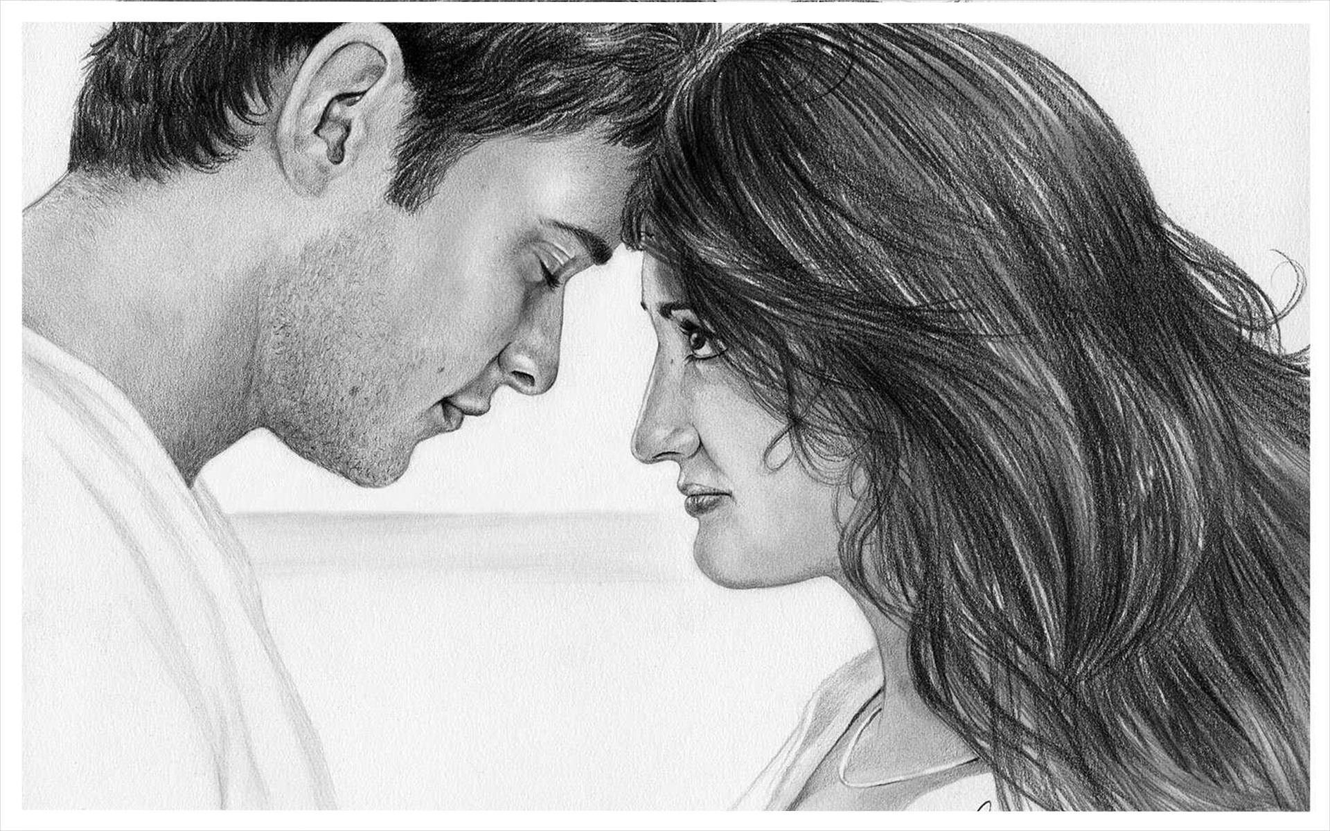 Красивые нарисованные любовные картинки, анимация