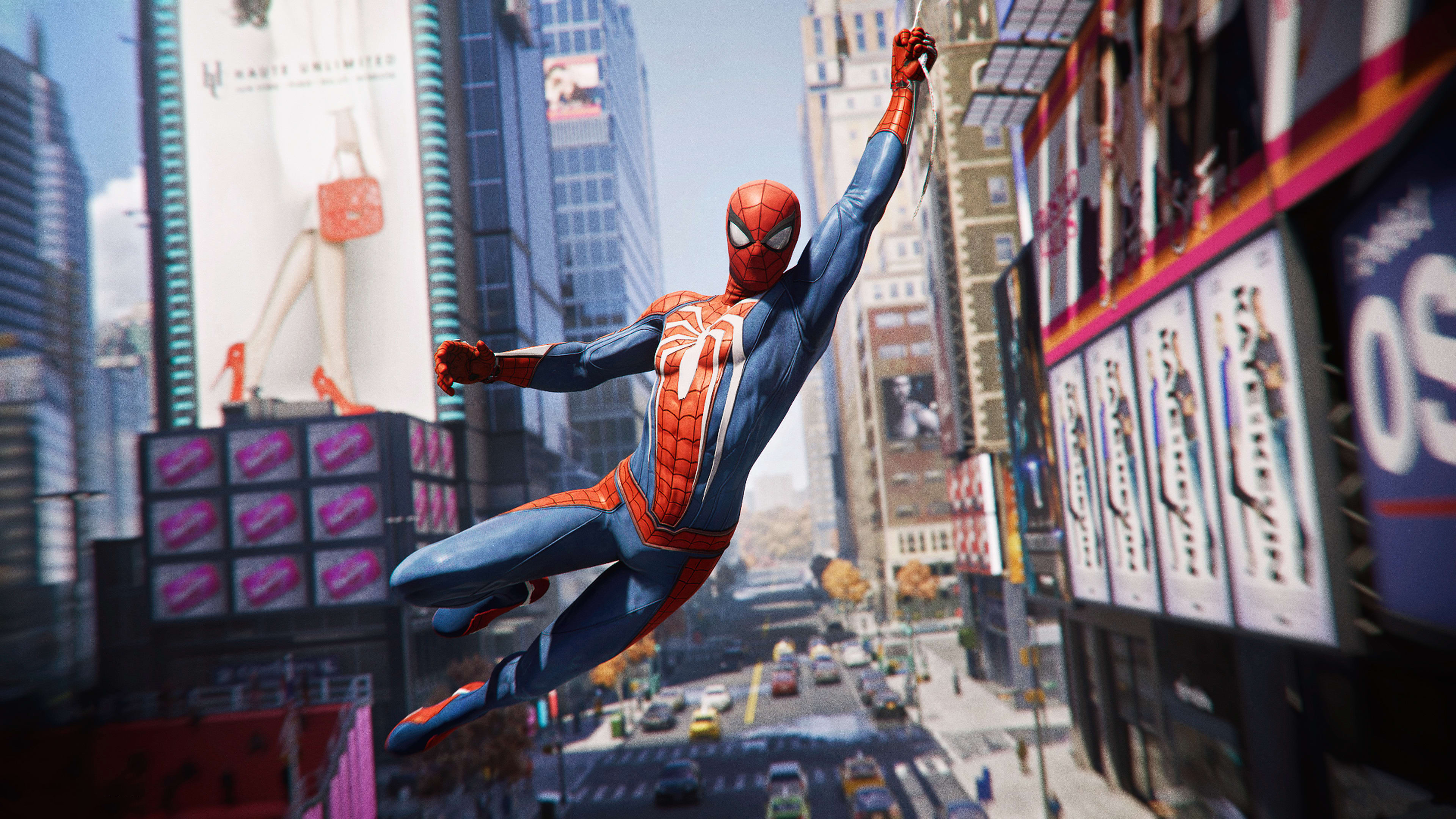 Spider Man Game 2018 Spiderman In Action Hd Wallpaper Download