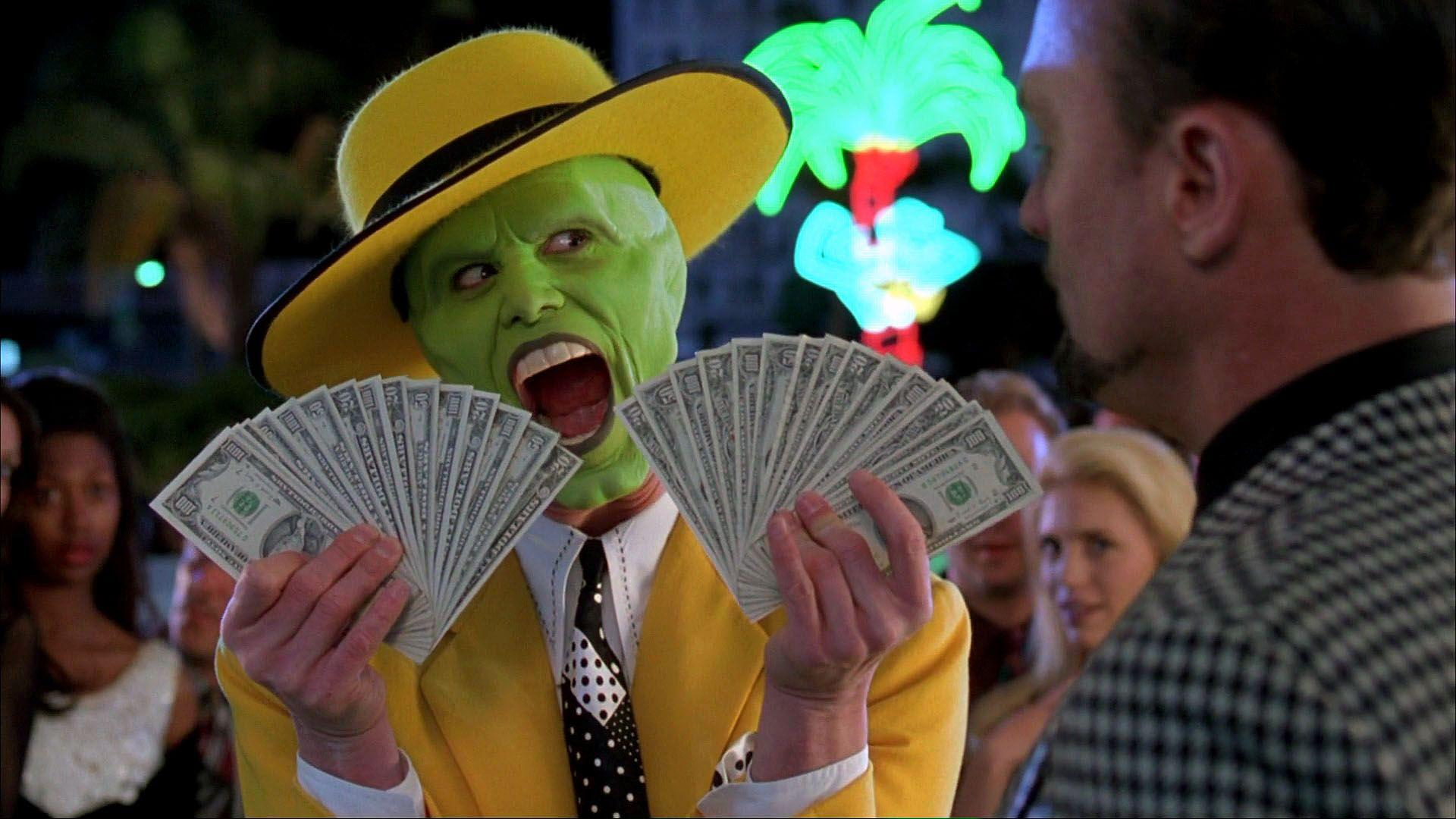 This is a really funny scene from The Mask when Stanley Ipkiss